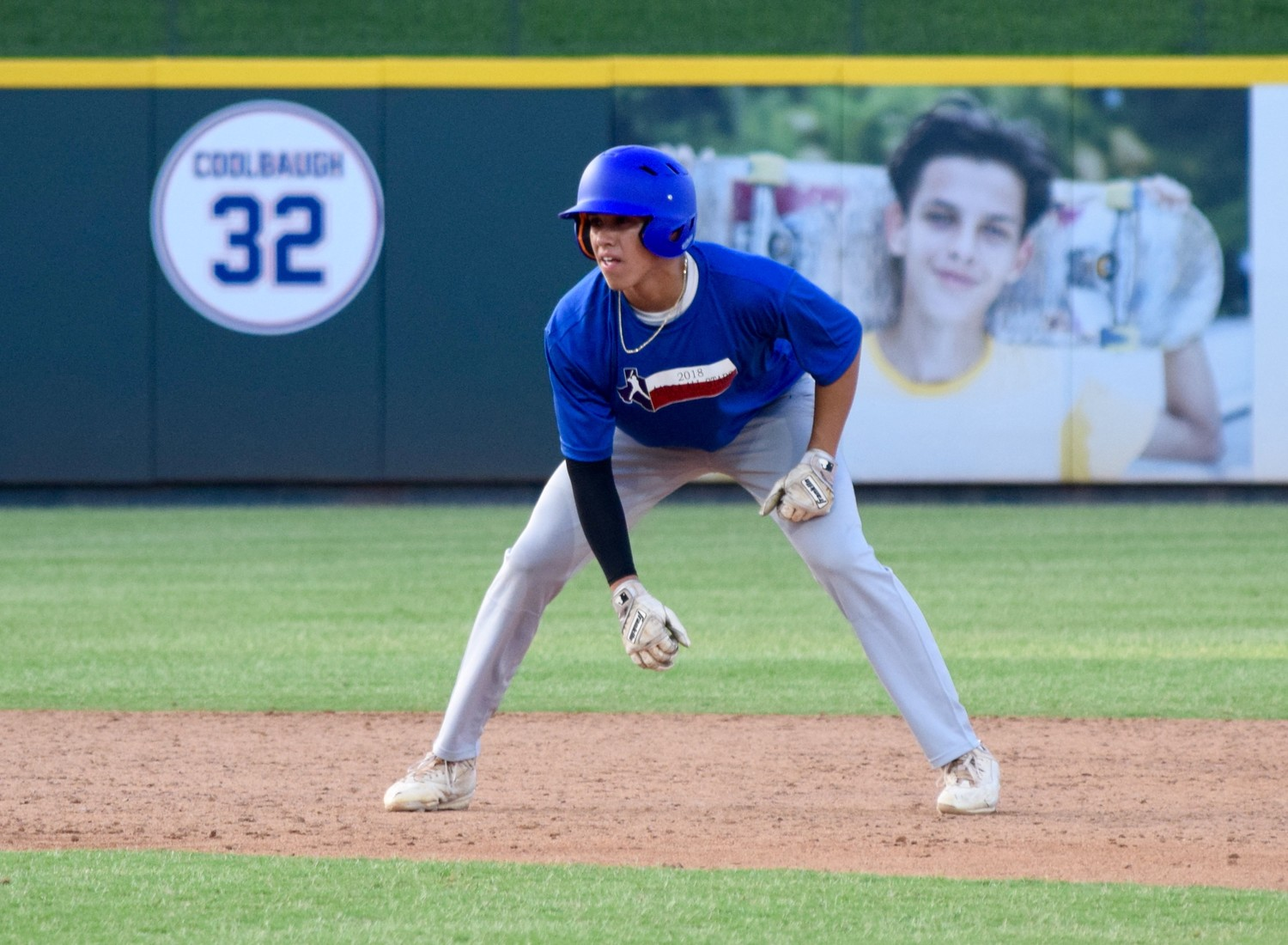 Rouse's Robby Rios-Caro participated in the Austin Area Baseball Coaches Association All-Star Game Saturday at Dell Diamond. His North team beat the South 21-5