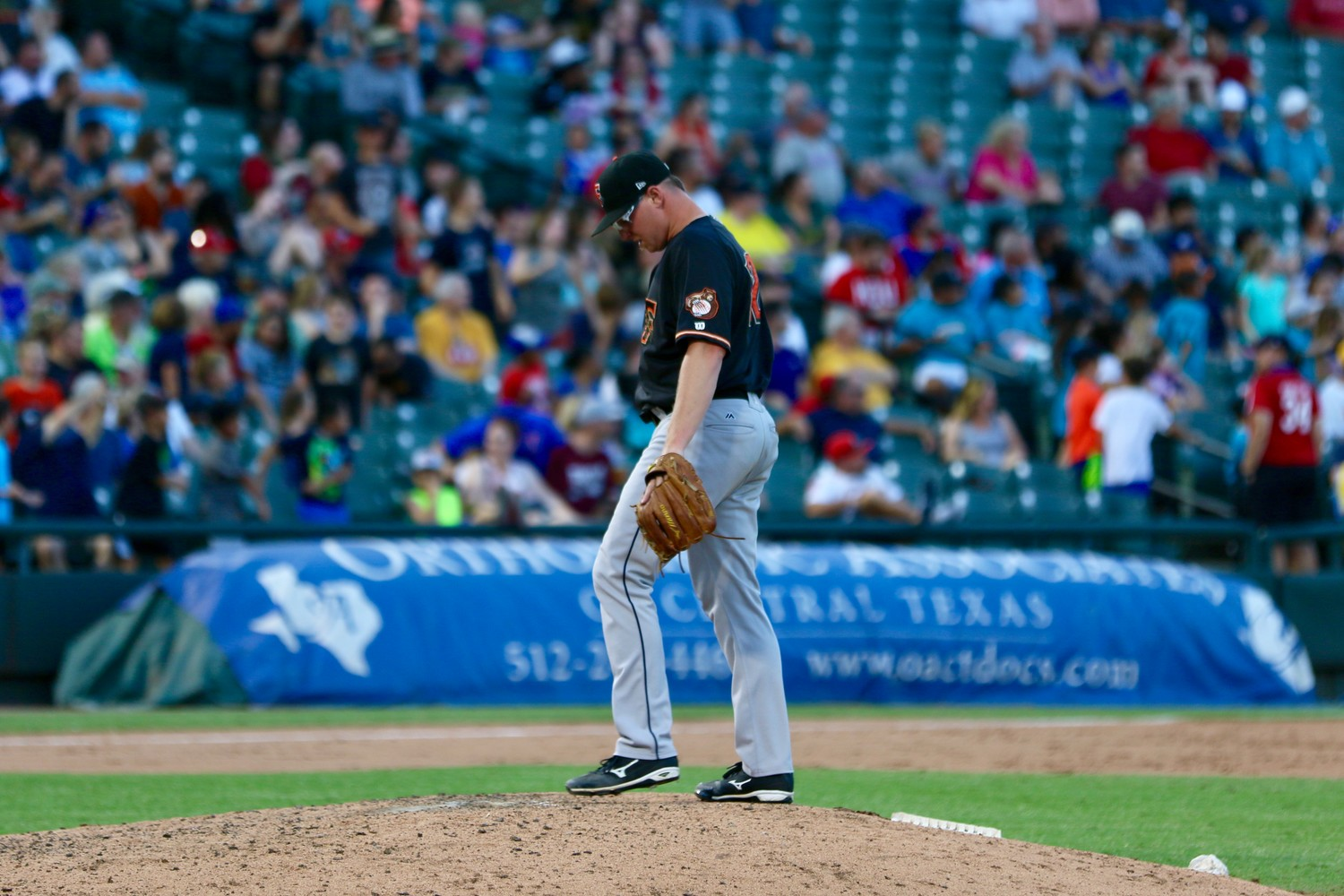 Trent Thornton took a no-hitter into the eighth inning at Dell Diamond Saturday night to help the Fresno Grizzlies take down Round Rock 6-1 in the first of a four-game series.