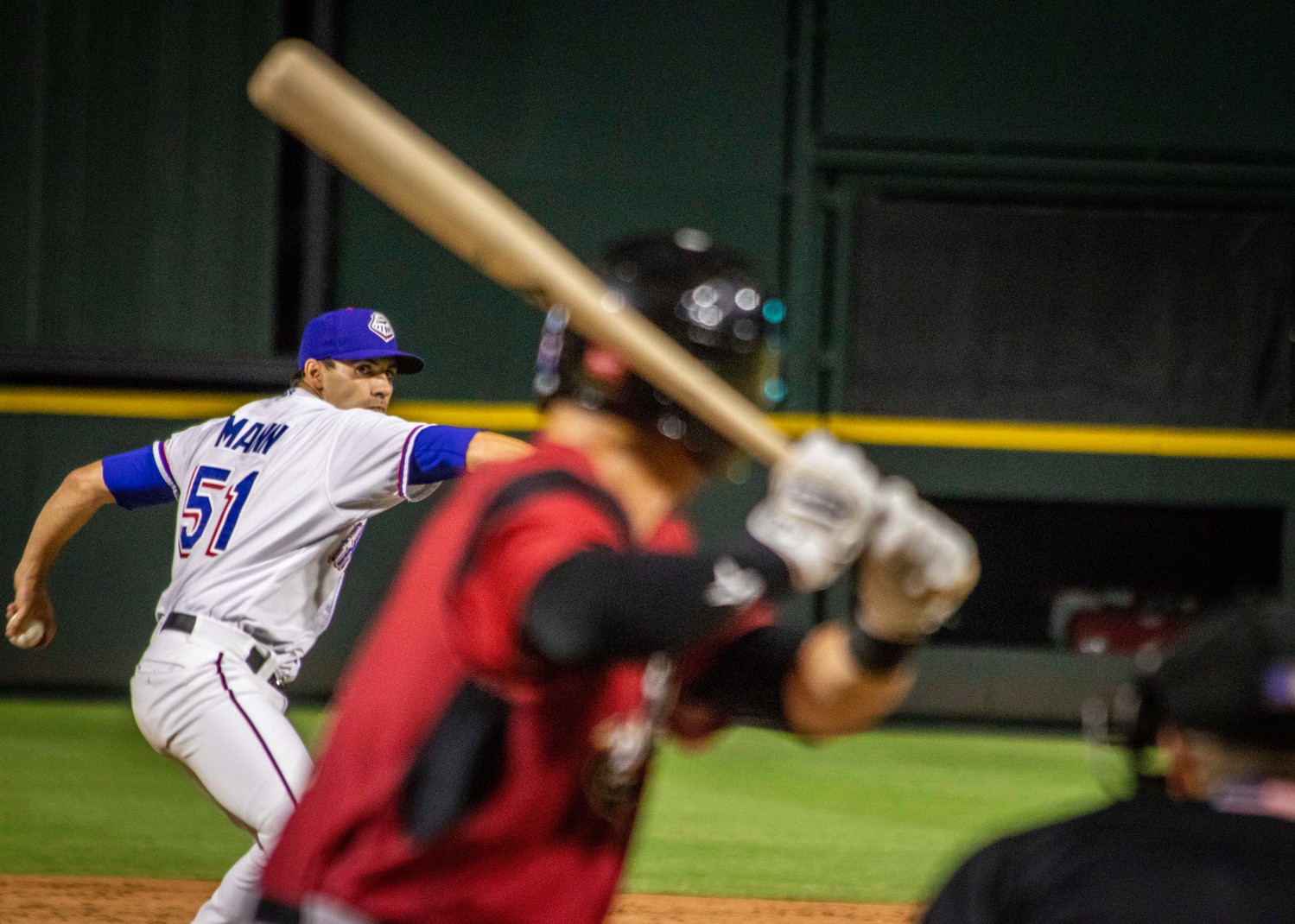 Brandon Mann joined the Rangers organization and was sent to Round Rock after spending time in four different MLB farm systems since he was drafted in 2002.