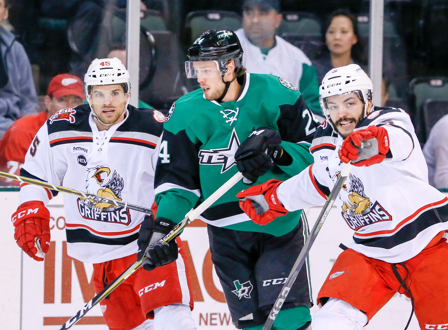 The Texas Stars will begin the 2018-19 AHL season on Friday, Oct. 5 against the Grand Rapids Griffins and will have 38 regular season games at HEB this season.