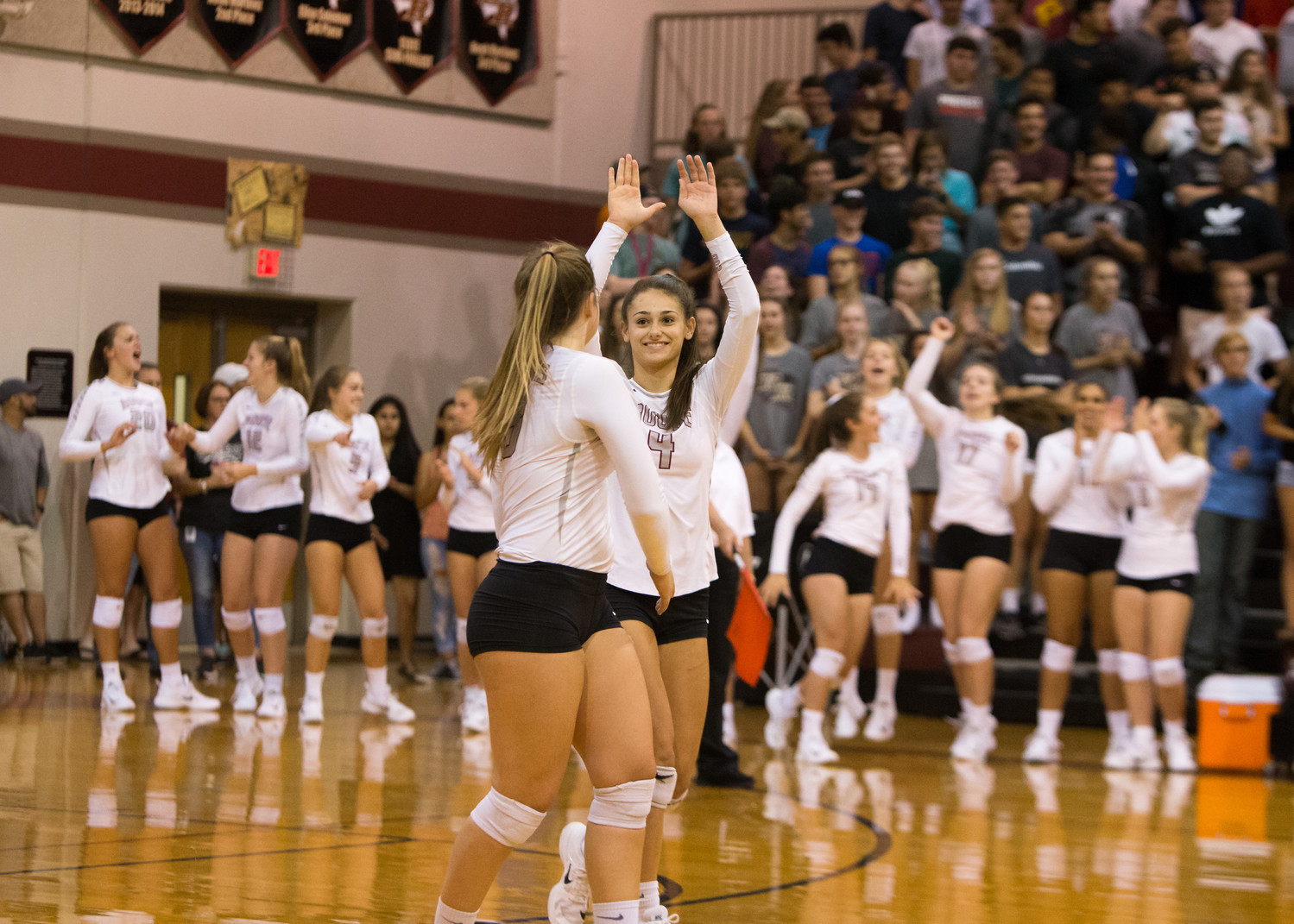 Rouse junior Grayson Schirpik finished last season fourth in kills (284) and third in digs (523) and is one of just three returning players on the varsity squad this season.