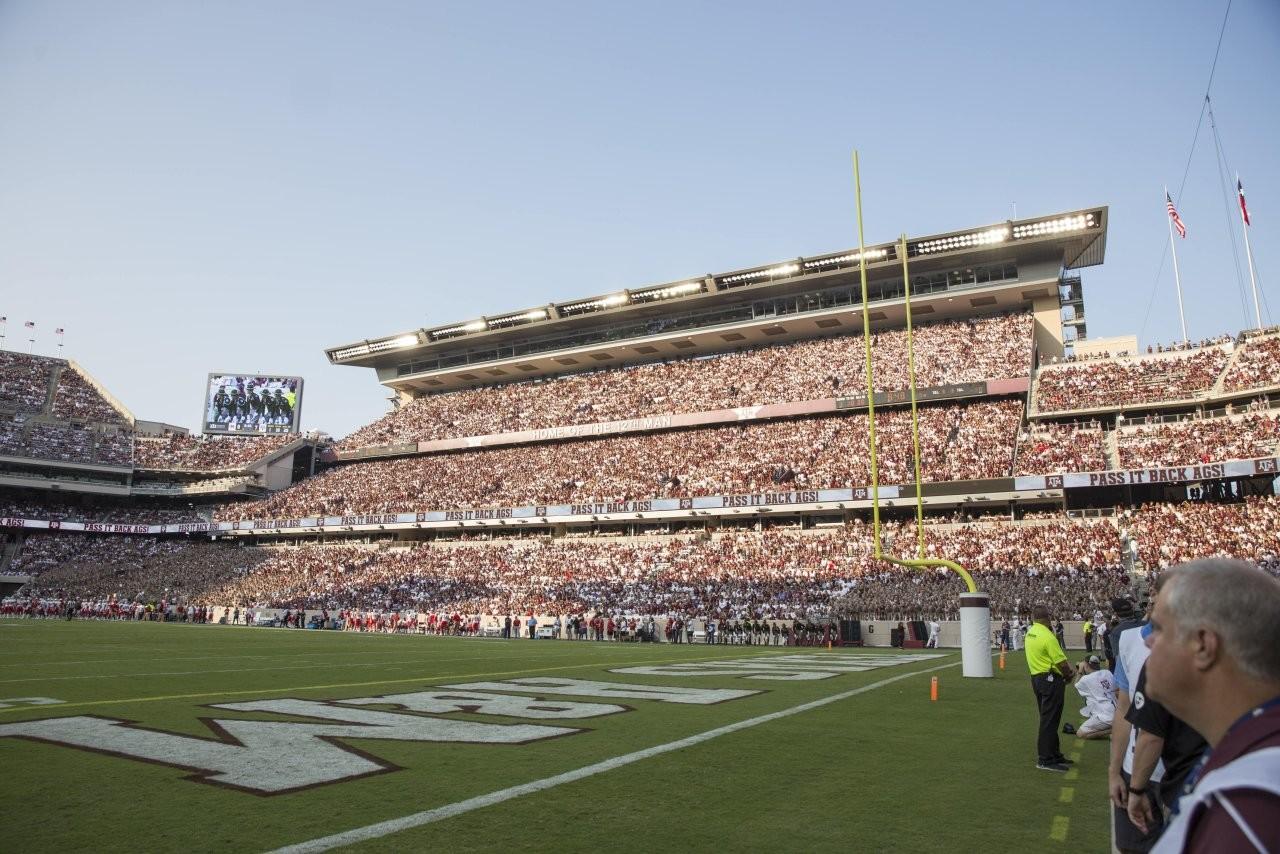 Kyle Field in College Station, Texas.
