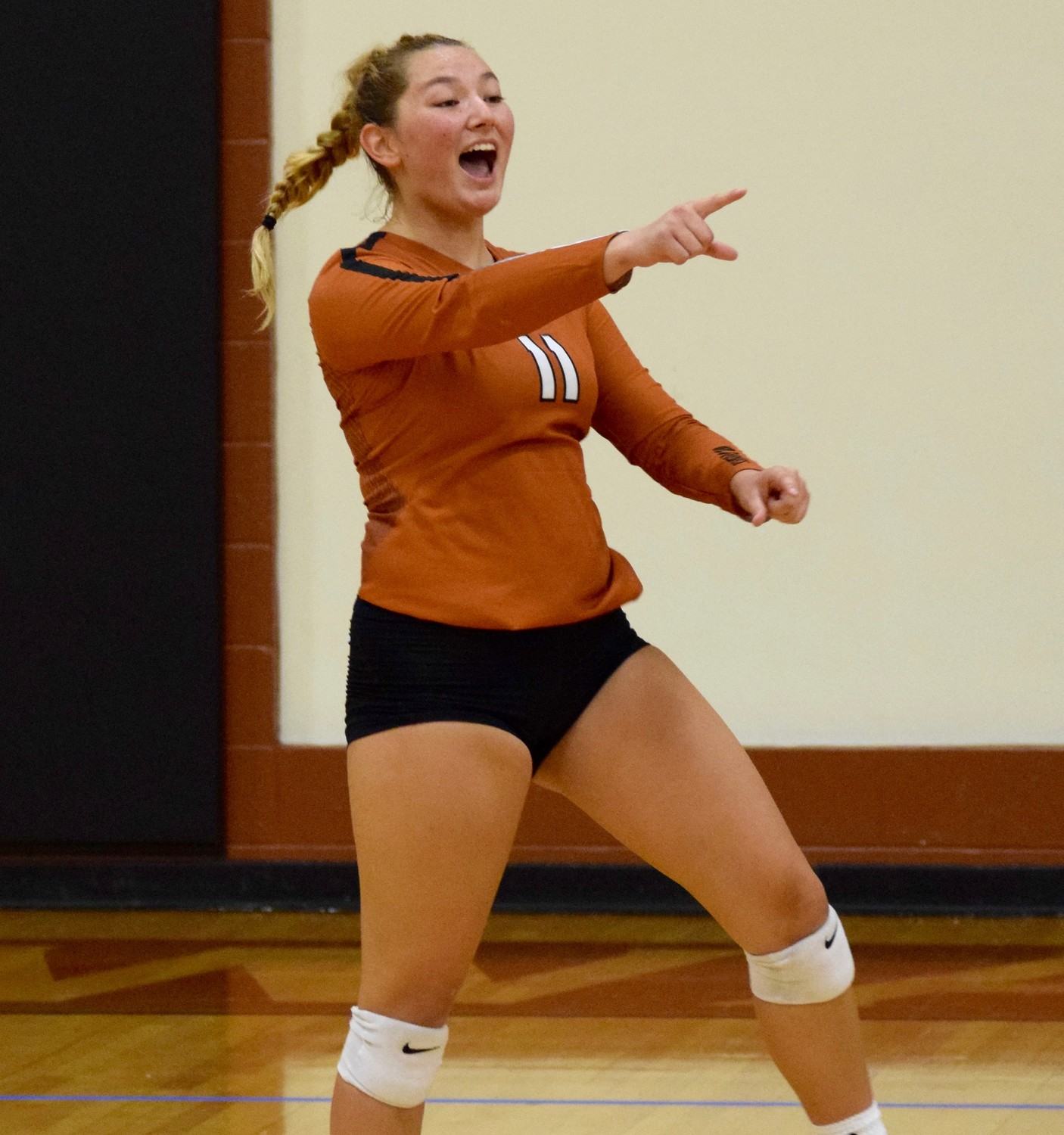 Abi Rucker and the Lady Warriors play in the Frauline tournament in New Braunfels this weekend and the Leander ISD Volleypalooza next weekend.