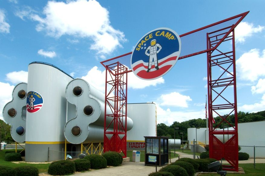 The Space Camp facility in Huntsville, Ala. has hosted students from all 50 states and numerous countries around the world.