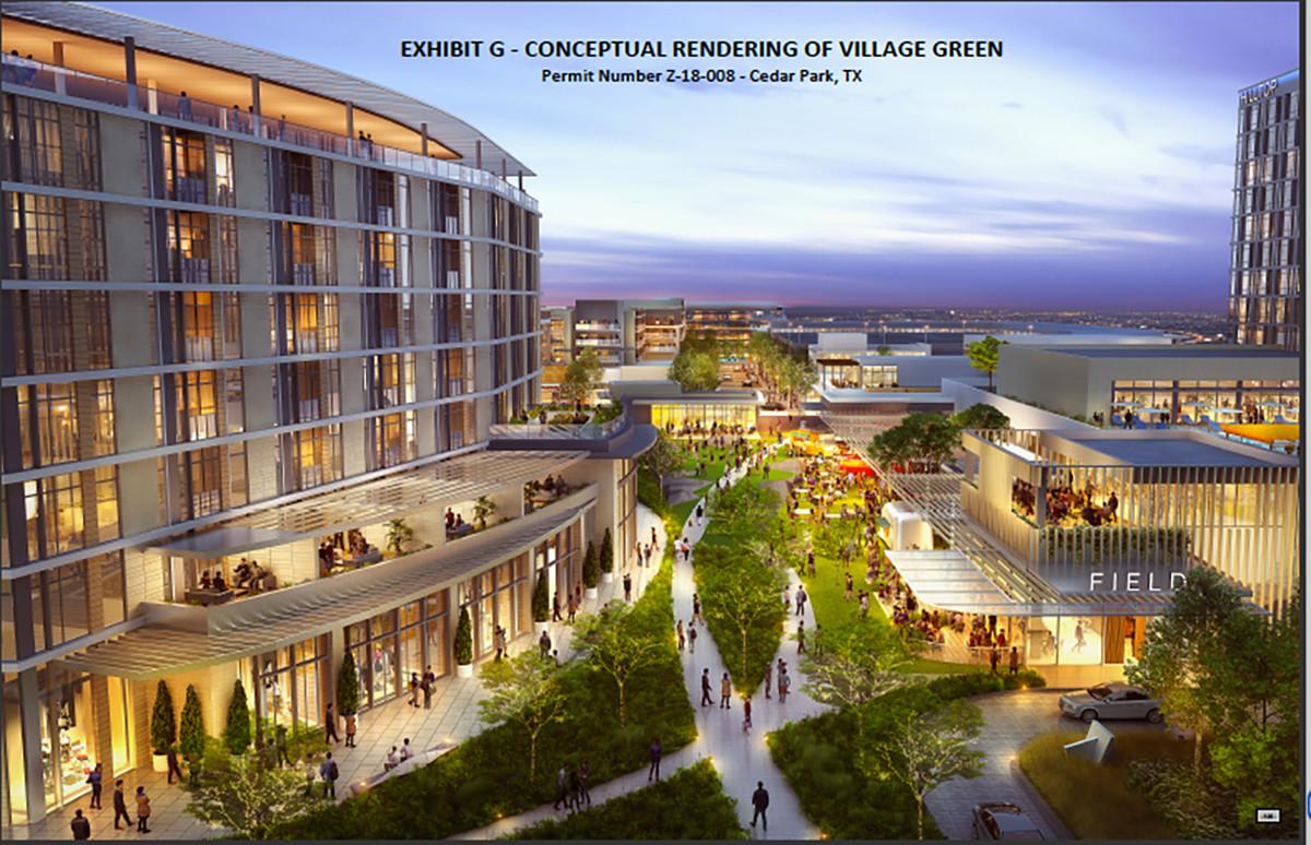 Cedar Park Tx >> New Mixed Use Development Planned In Cedar Park Hill Country News