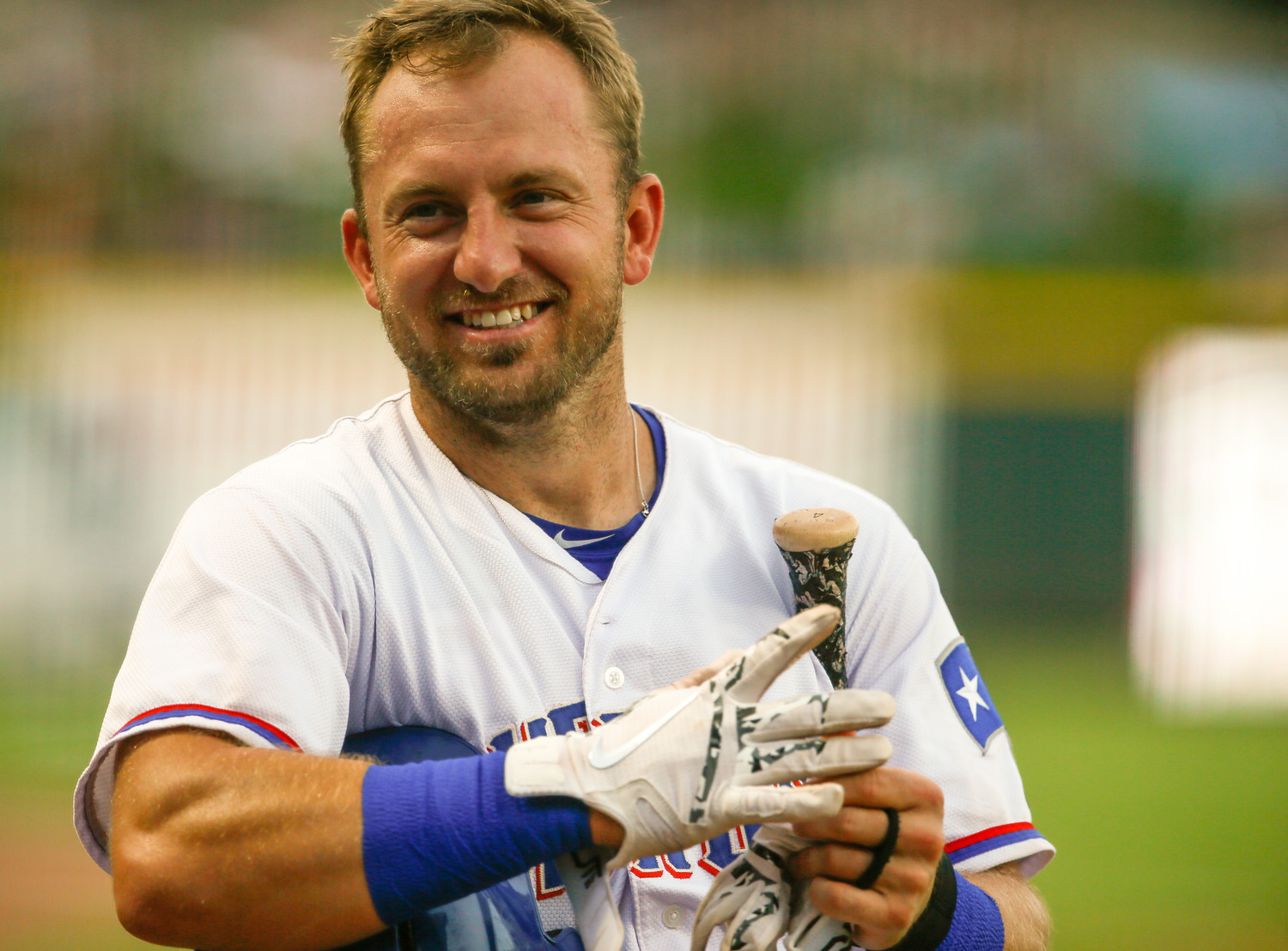 Cliff Pennington was born in Corpus Christi and went to college at Texas A&M. Now, he's with the Texas Rangers organization after a long major league career.