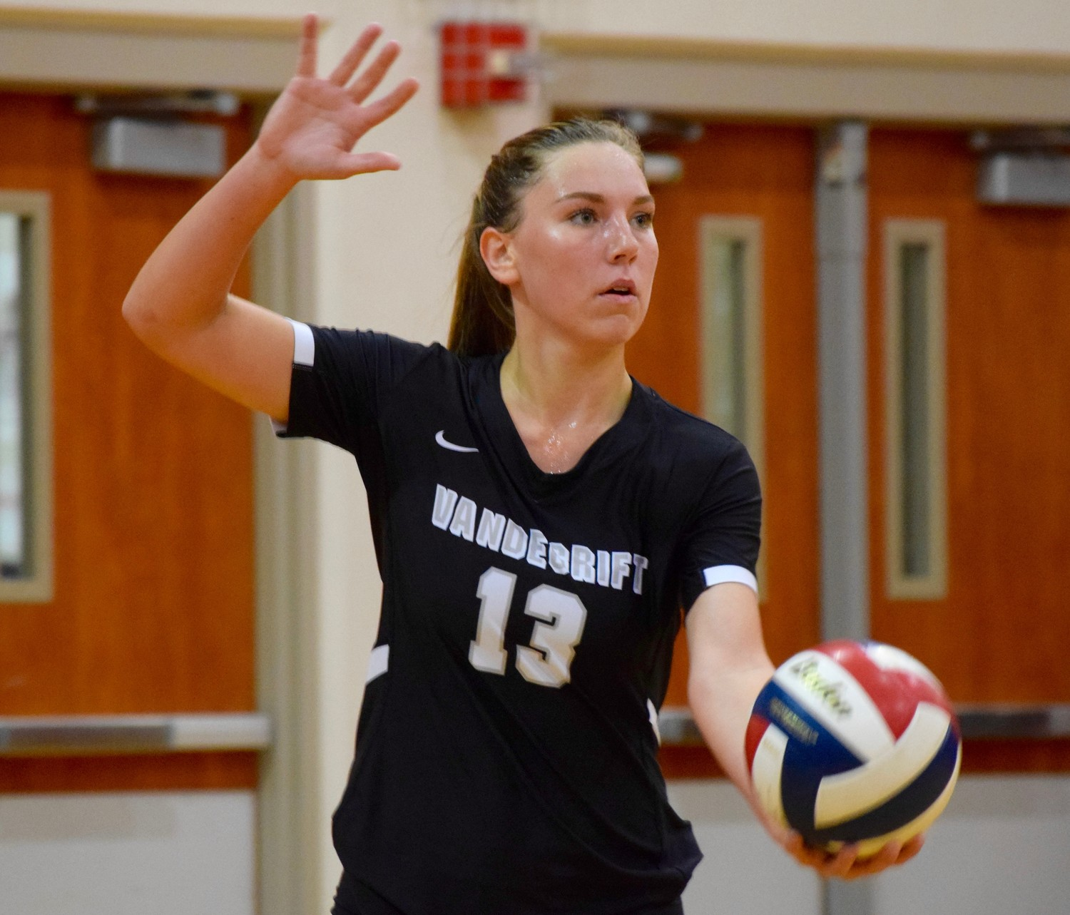 Brynne Wright and Vandegrift were swept by Vista Ridge 3-0 (25-15, 25-22, 25-17) on Tuesday night.