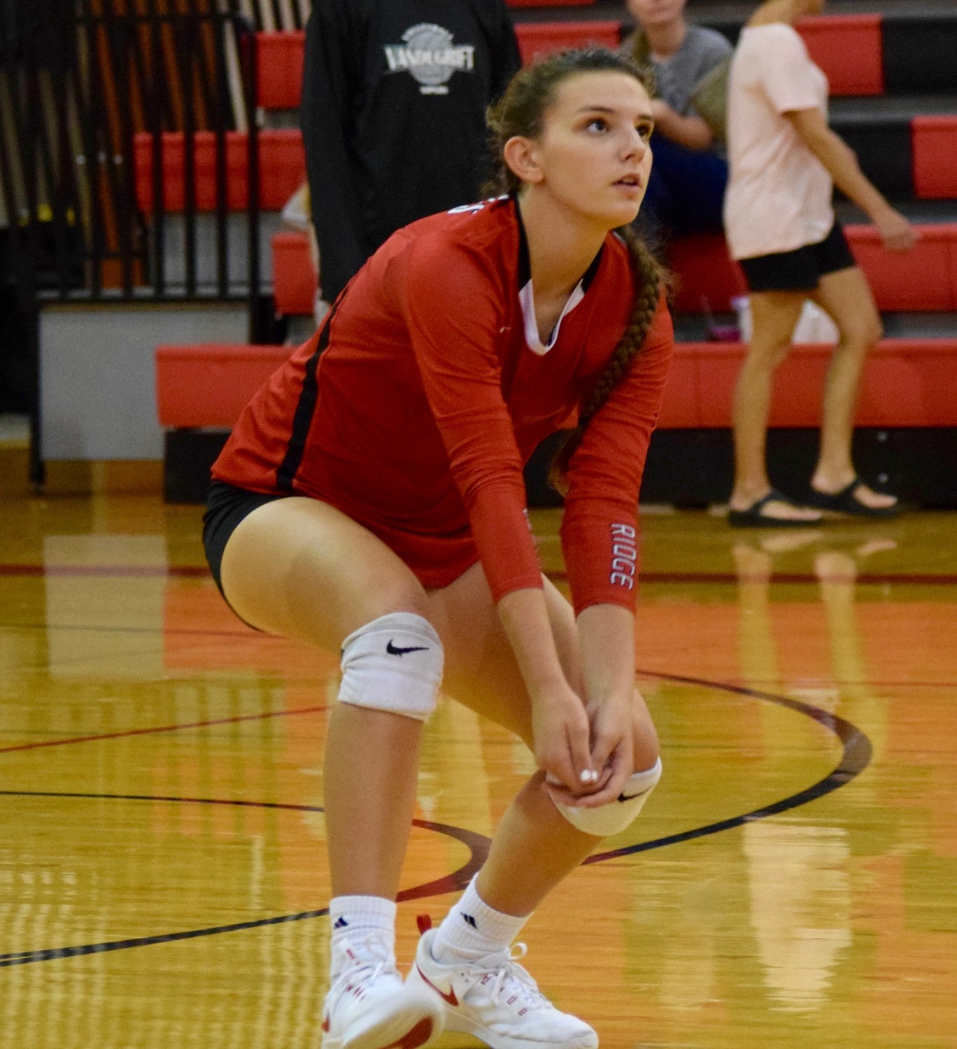 Geneva Nedrow and Vista Ridge swept Vandegrift 3-0 (25-15, 25-22, 25-17) to pick up their second straight district win on Tuesday night.