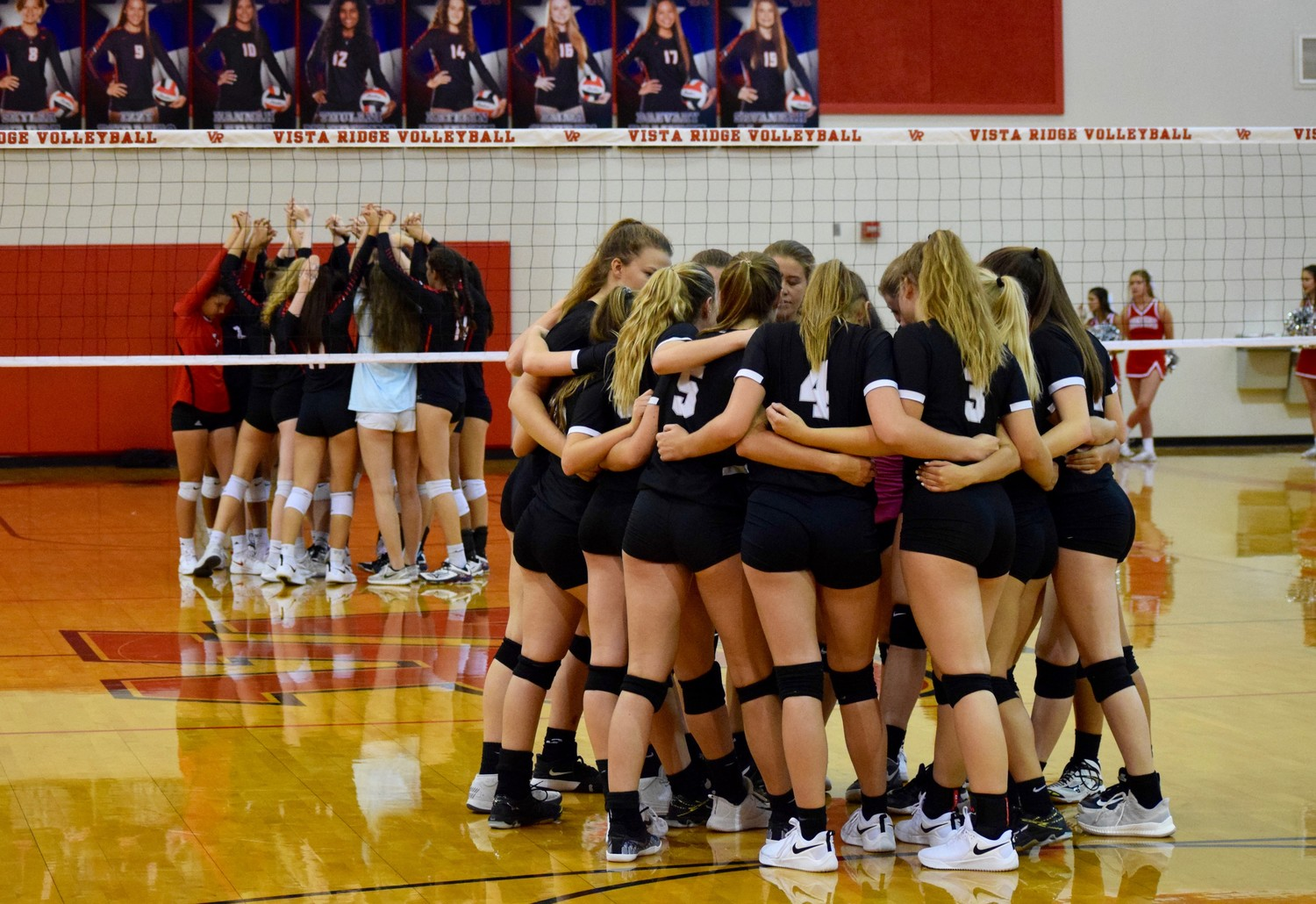 Vista Ridge swept Vandegrift 3-0 (25-15, 25-22, 25-17) to pick up their second straight district win on Tuesday night.