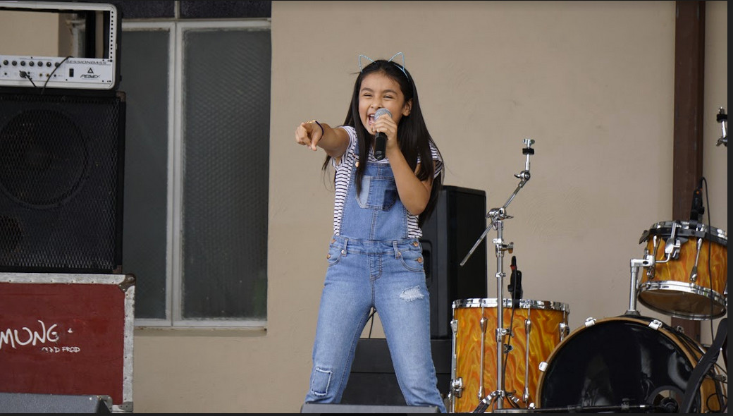 Eleven-year-old Mia Garcia is a rising star in the Tejano music world.