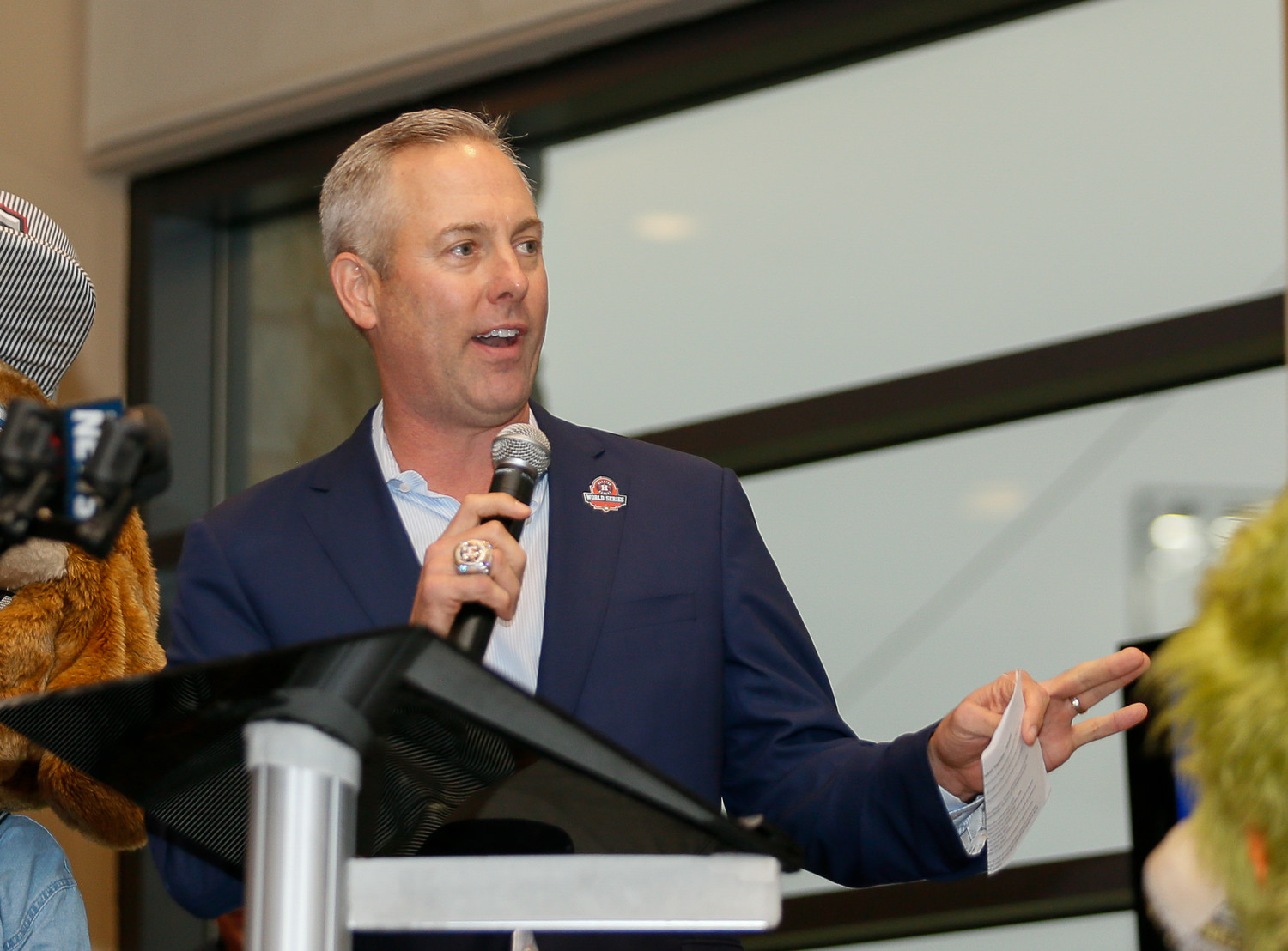 Astros President of Business Operations Reid Ryan and the Astros announced a four-year Professional Development Contract with the Round Rock Express on Thursday evening.