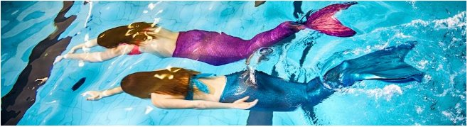 Founded in Feb. 2015 in Montreal by Marielle Chartier Henault, AquaMermaid is the largest mermaid school in the world.