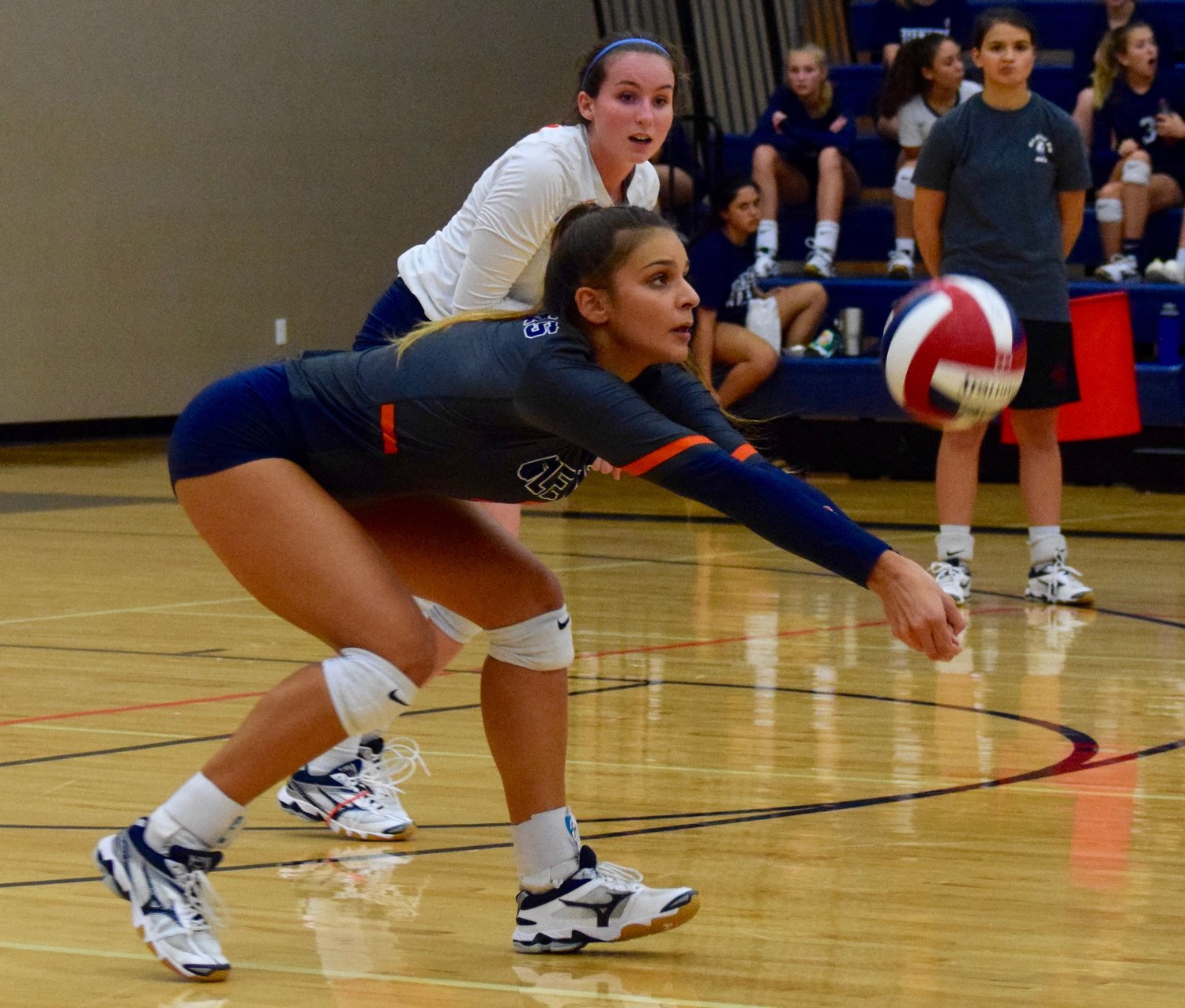 Sydney Carvajal and Glenn were swept by Rouse 3-0 (25-11, 25-10, 25-19) Tuesday night at home.
