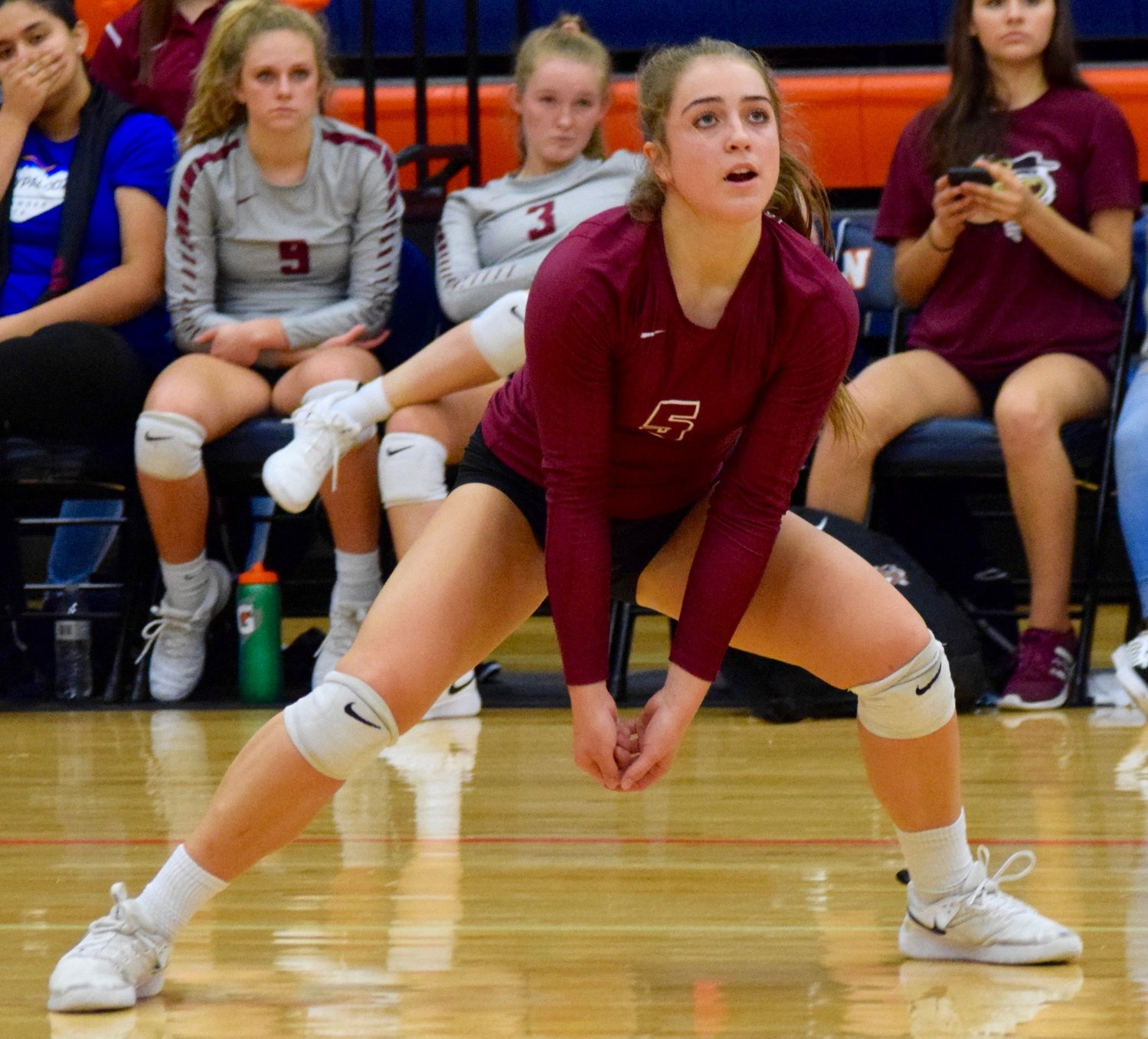 Reilly Heinrich and Rouse swept Glenn 3-0 (25-11, 25-10, 25-19) to stay undefeated in district play and push their winning streak to 10 games.