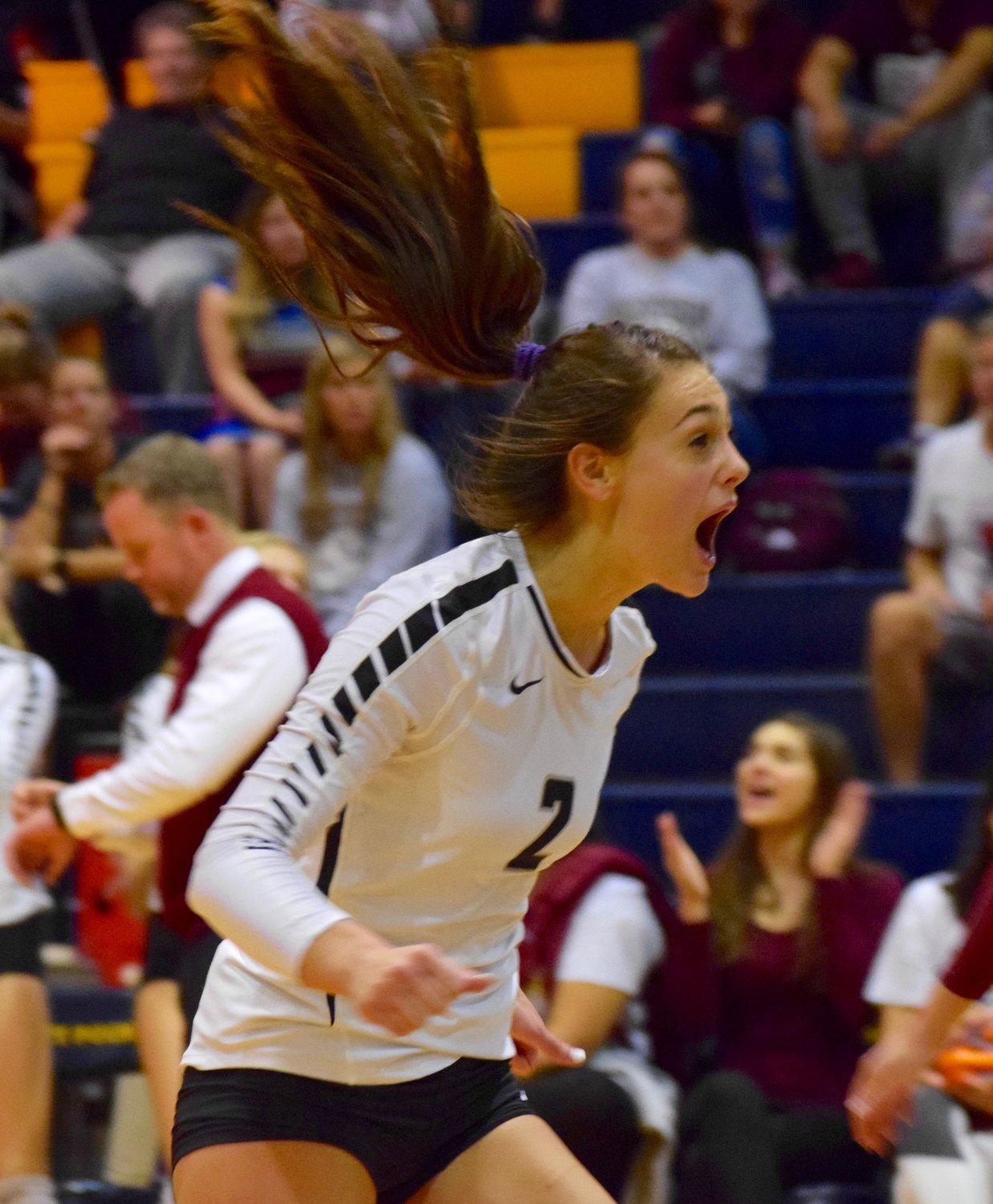 Grayson Schirpik and Rouse swept Bastrop 3-0 (25-16, 25-14, 25-23) on Tuesday night to advance to the area round of the playoffs for the third year in a row.