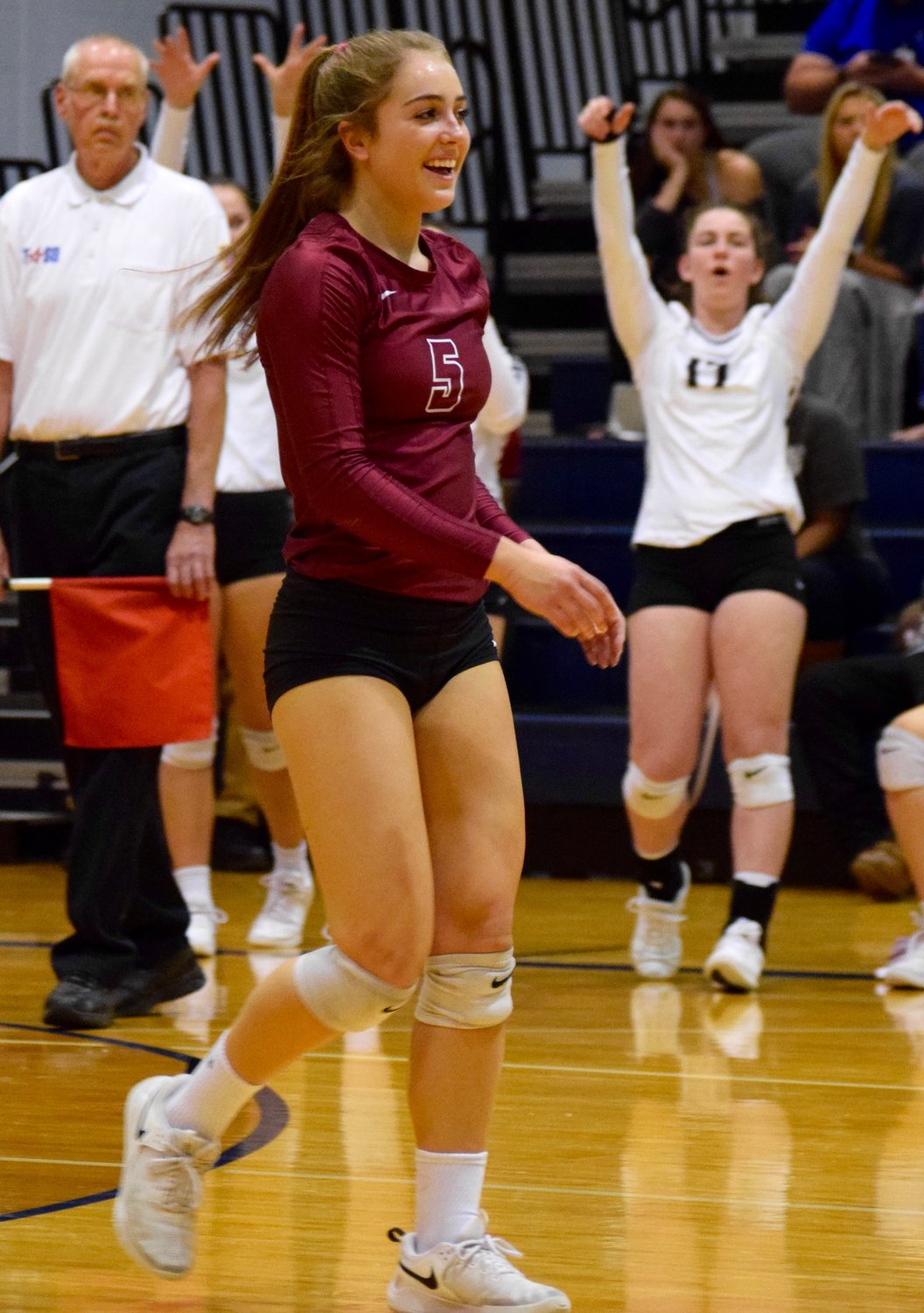 Reilly Heinrich and Rouse swept Bastrop 3-0 (25-16, 25-14, 25-23) on Tuesday night to advance to the area round of the playoffs for the third year in a row.