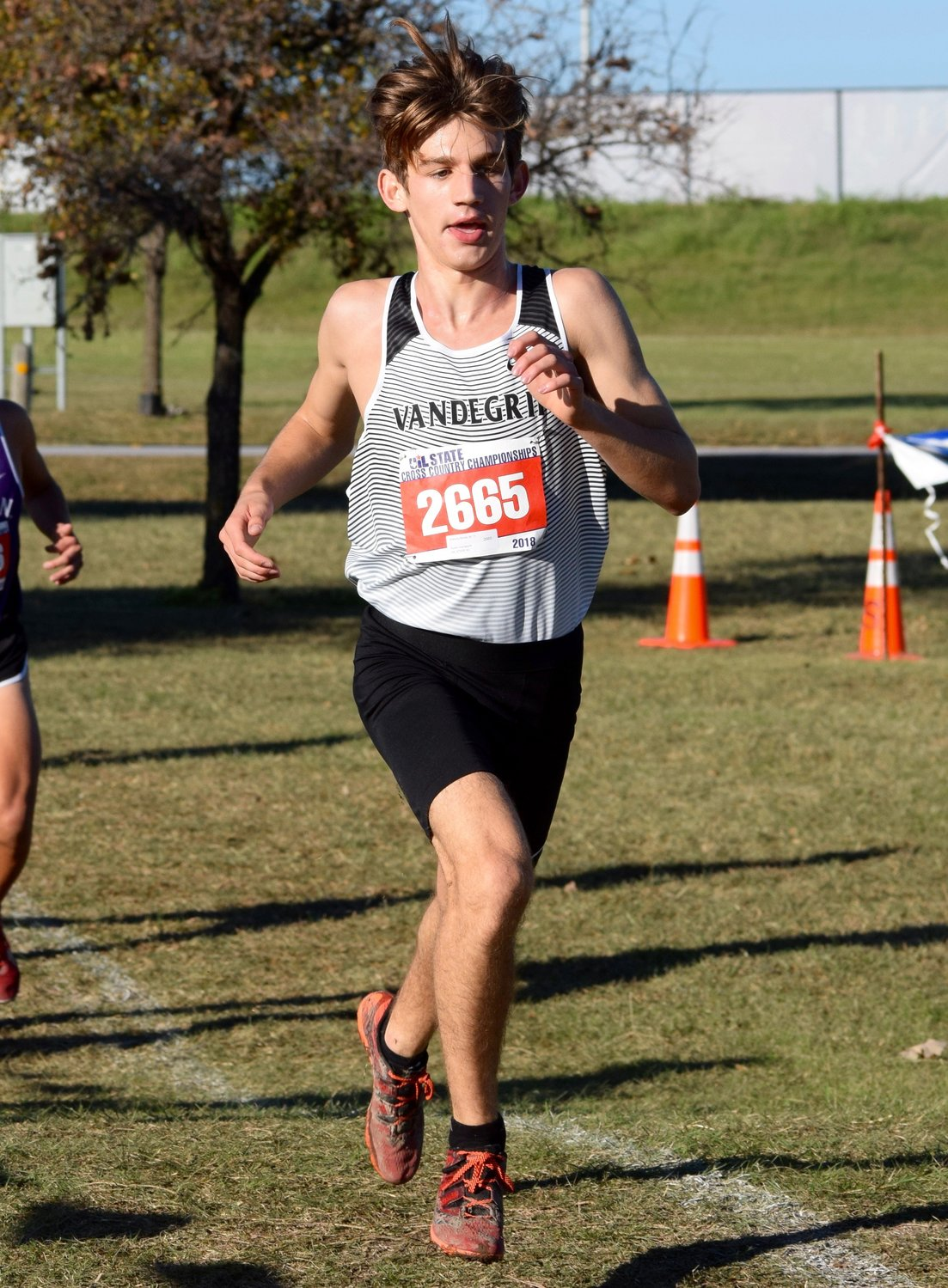 Vandegrift junior Anthony Monte finished 19th with a time of 15:26.12 at the State Cross Country meet Saturday in Round Rock.