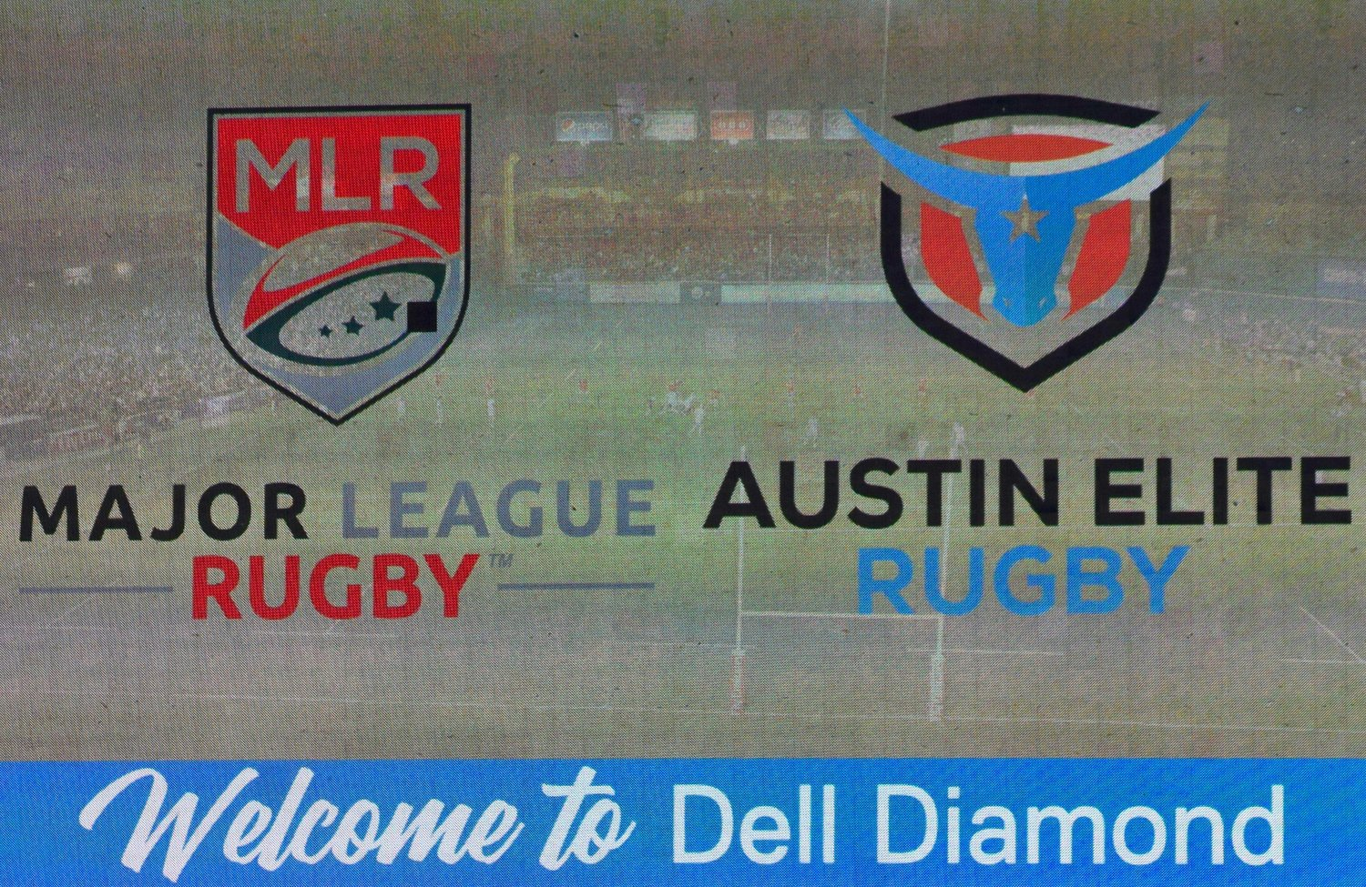 Austin Elite Rugby will play six of its home games at Dell Dimond next season. They played at the Round Rock Multipurpose Complex during the inaugural season for the team and the league a year ago.