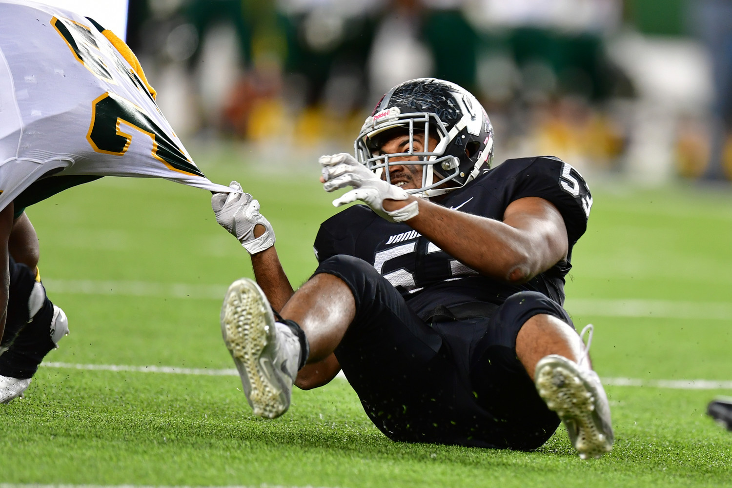 Varun Kalyanapuram and Vandegrift fell to Longview 56-28 in the regional semifinals Saturday at McLane Stadium in Waco.