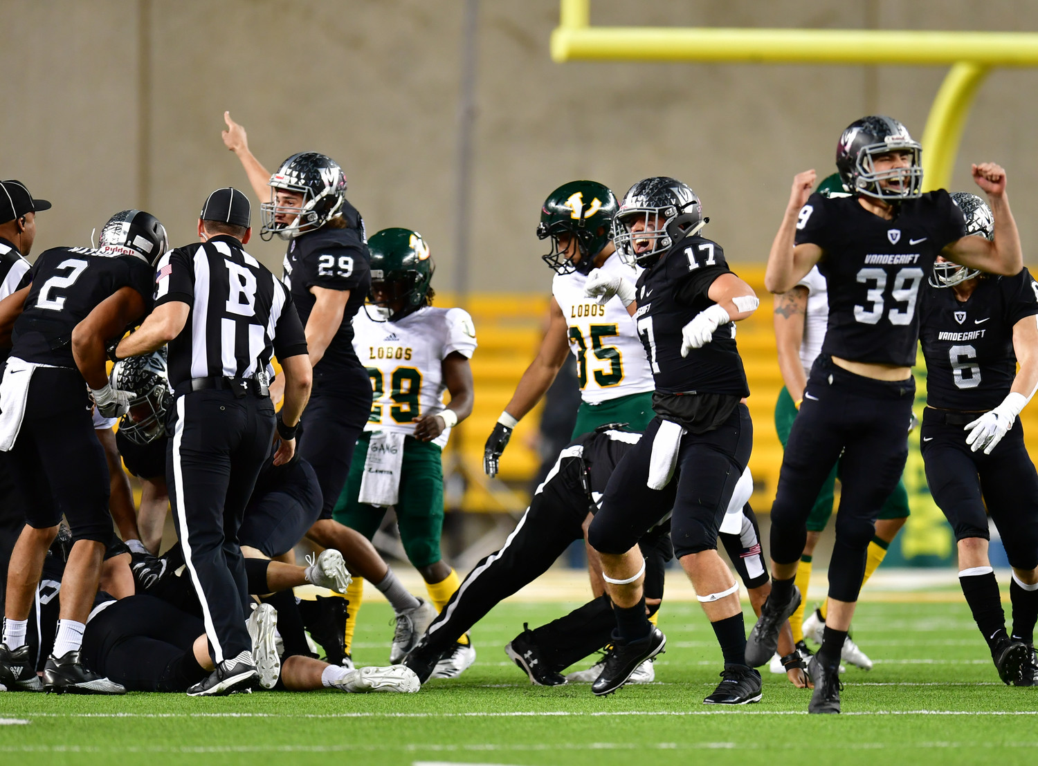 Vandegrift fell to Longview 56-28 in the regional semifinals Saturday at McLane Stadium in Waco.