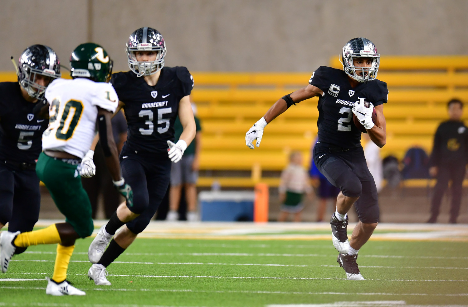 Reese Watson and Vandegrift fell to Longview 56-28 in the regional semifinals Saturday at McLane Stadium in Waco.