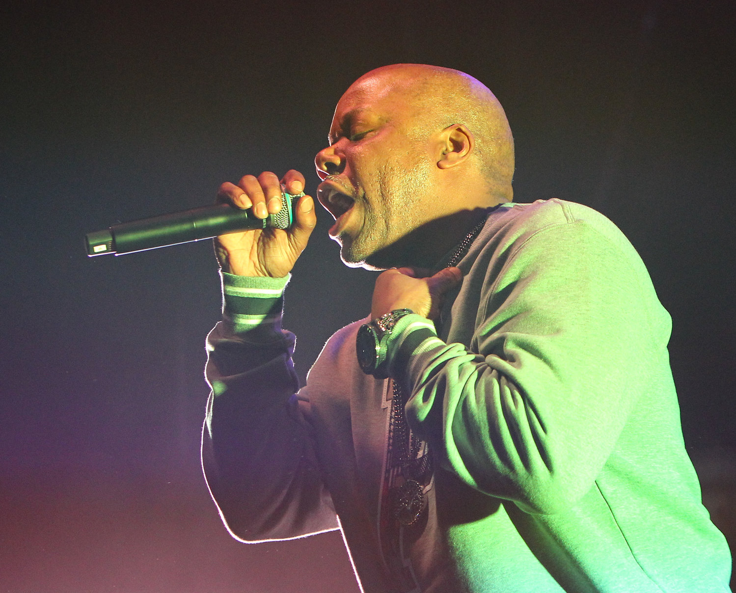 Too Short performs on the Puff Puff Pass tour on Sunday, Dec. 2, 2018 in Round Rock, TX.