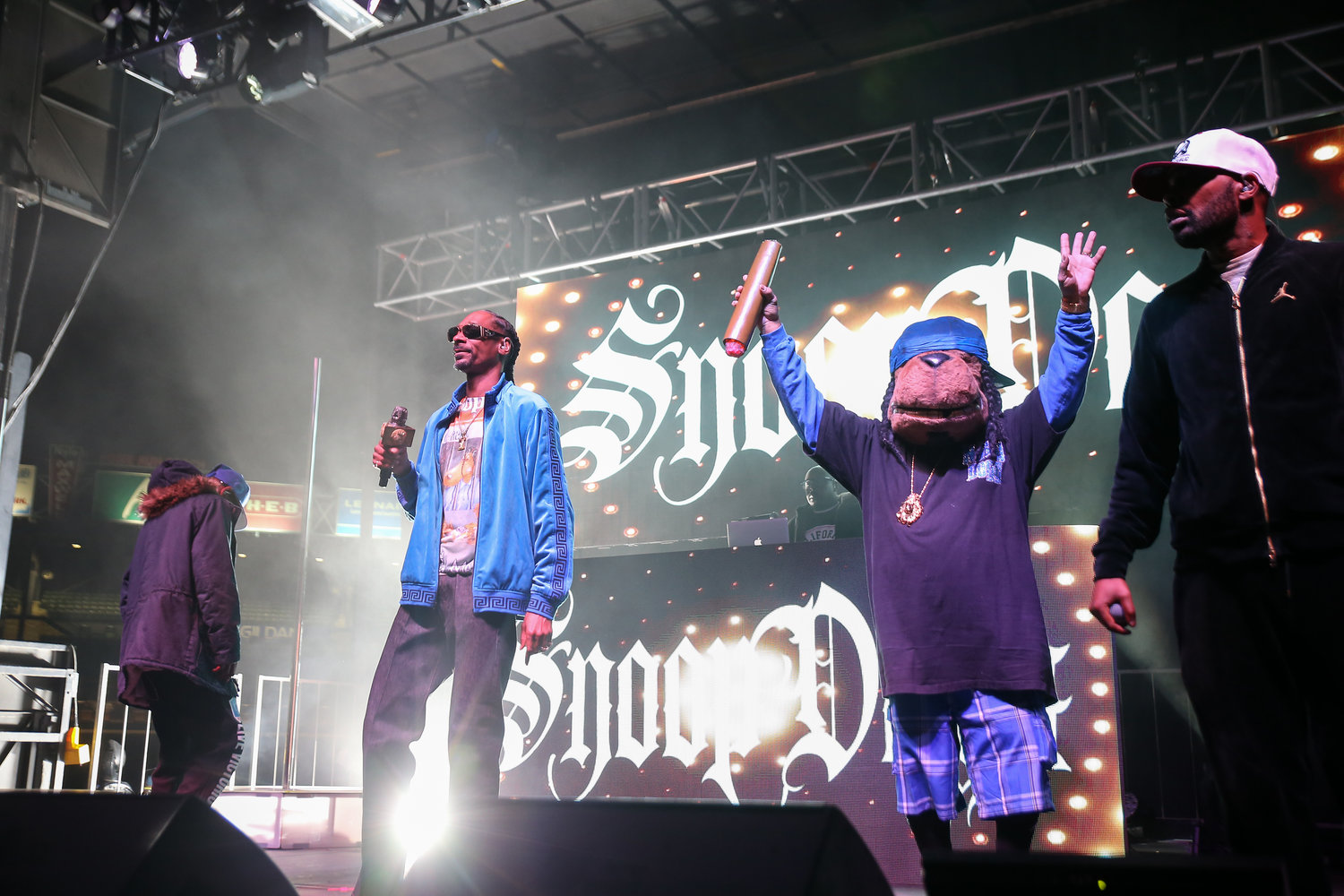 Snoop Dogg performs on the Puff Puff Pass tour on Sunday, Dec. 2, 2018 in Round Rock, TX.