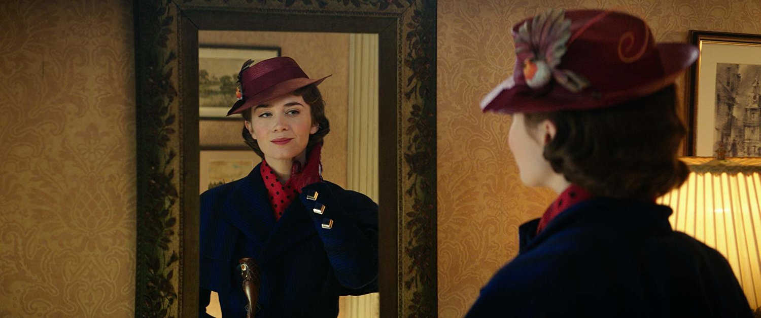 "Emily Blunt stars in ""Mary Poppins Returns,"" in area theaters now."