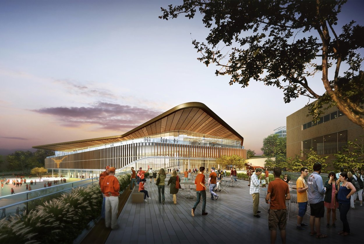 A new $338 million arena will replace the Frank Erwin Center, and will be located just south of Mike A. Myers stadium.
