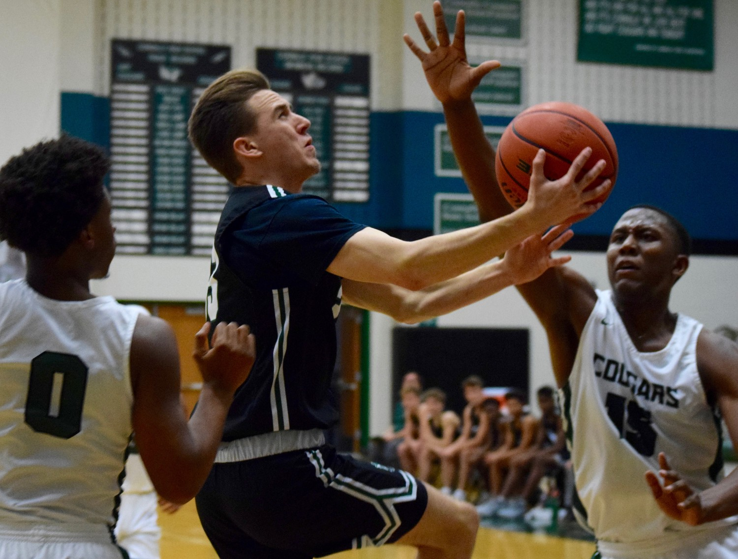 Dillon Faulkner scored three points and Cedar Park beat Connally 60-53 on Friday night to take the top spot in District 17-5A and stay unbeaten in district play.
