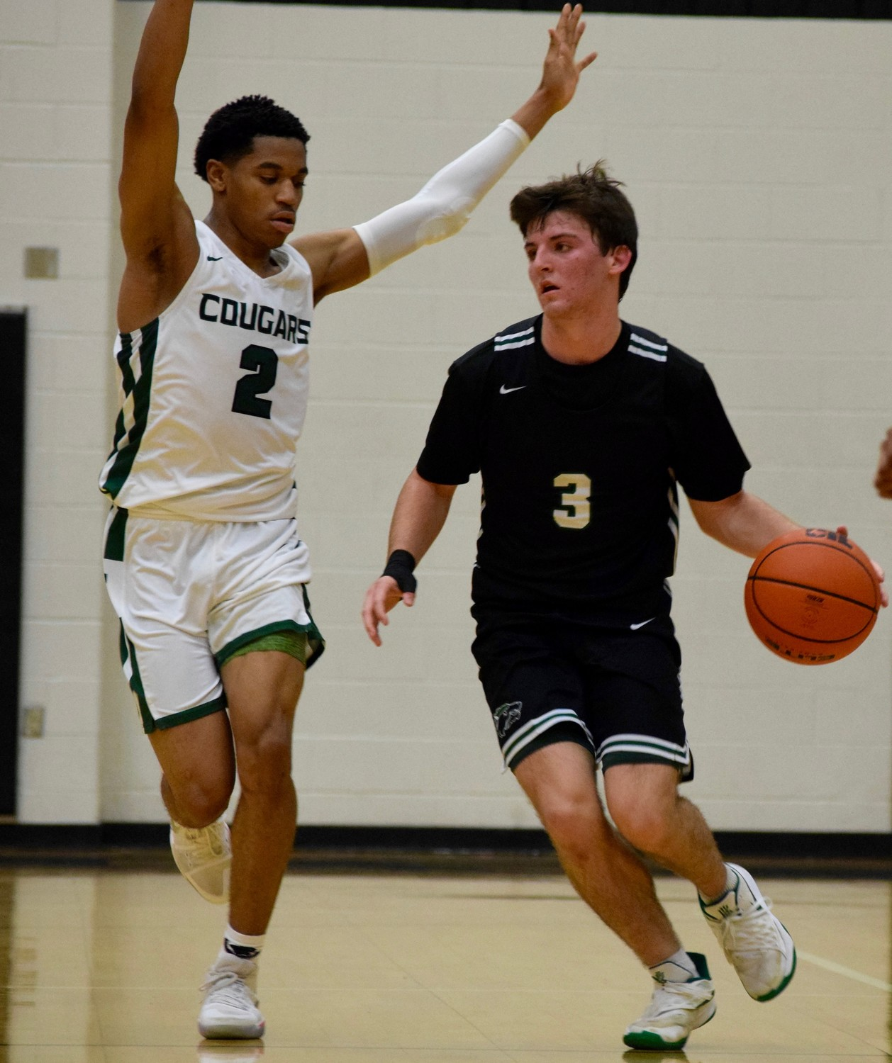 Karson Cater scored 11 points and Cedar Park beat Connally 60-53 on Friday night to take the top spot in District 17-5A and stay unbeaten in district play.