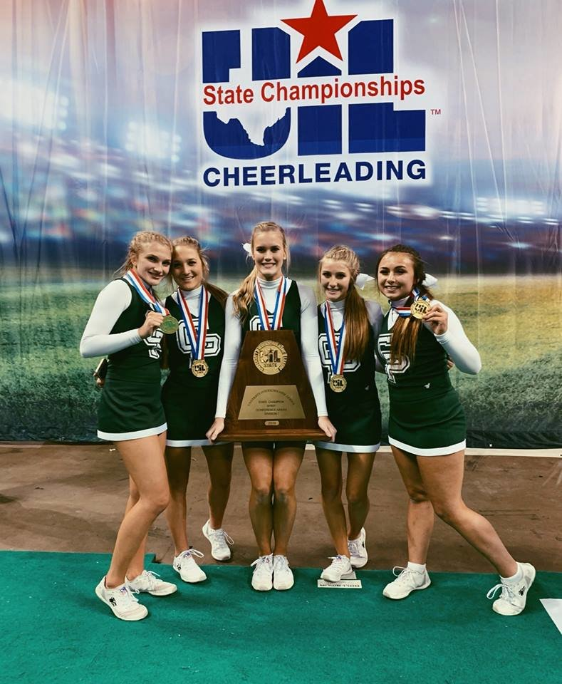 Cedar Park won its second consecutive state title at the UIL Spirit State Championships last weekend in Fort Worth.