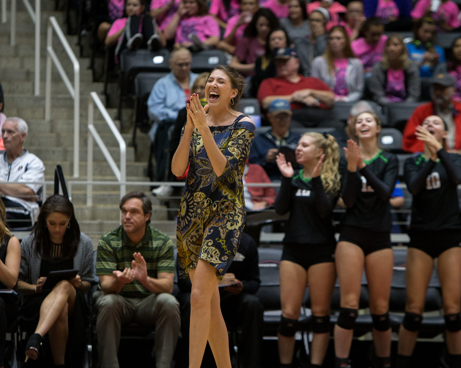 Kori (Cooper) Clements led Cedar Park to the state tournament during her short time as head coach with the Timberwolves. She resigned as head coach at Amarillo HS, her alma mater, last week.