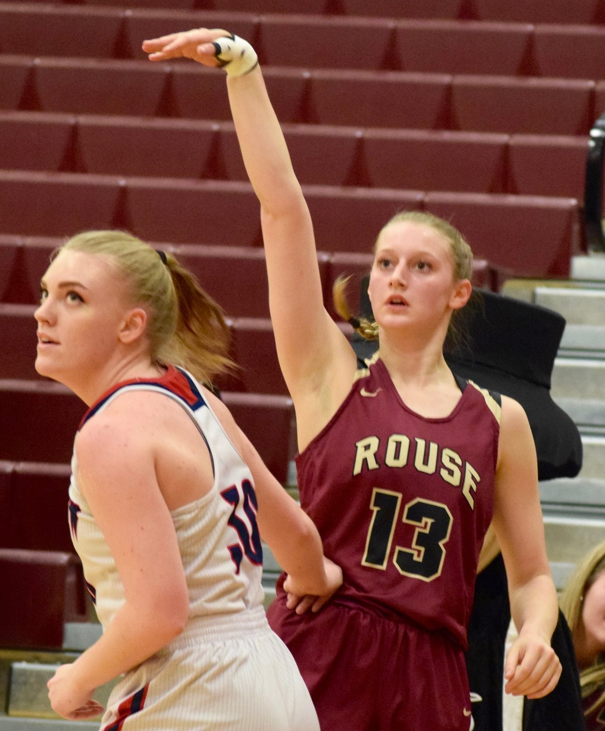 Chloe Austin scored six points and Rouse lost to East View 35-30 in the first round of the playoffs Monday night at Round Rock High School.