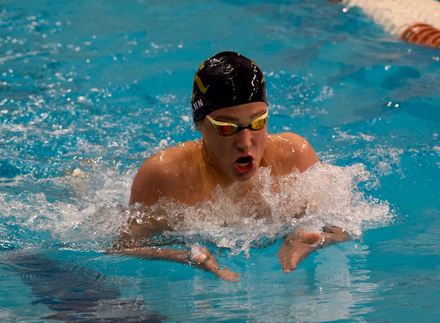Rouse sophomore Zachary Bann finished 15th overall in the 200-yard individual medley at the UIL State Swimming and Diving Championships on Saturday.