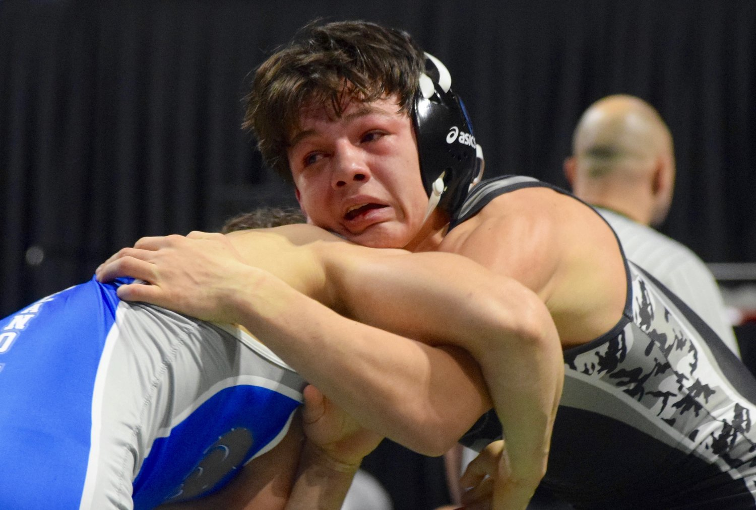 Vandegrift sophomore Luke Sloan finished second in the 132-pound division at the UIL State Wrestling tournament Saturday at the Berry Center in Cypress.