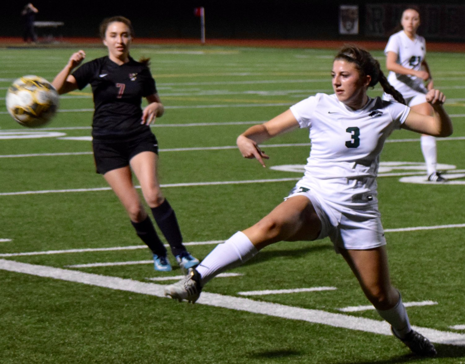 Cedar Park and Carly Rowe beat Rouse 4-1 on Friday night.