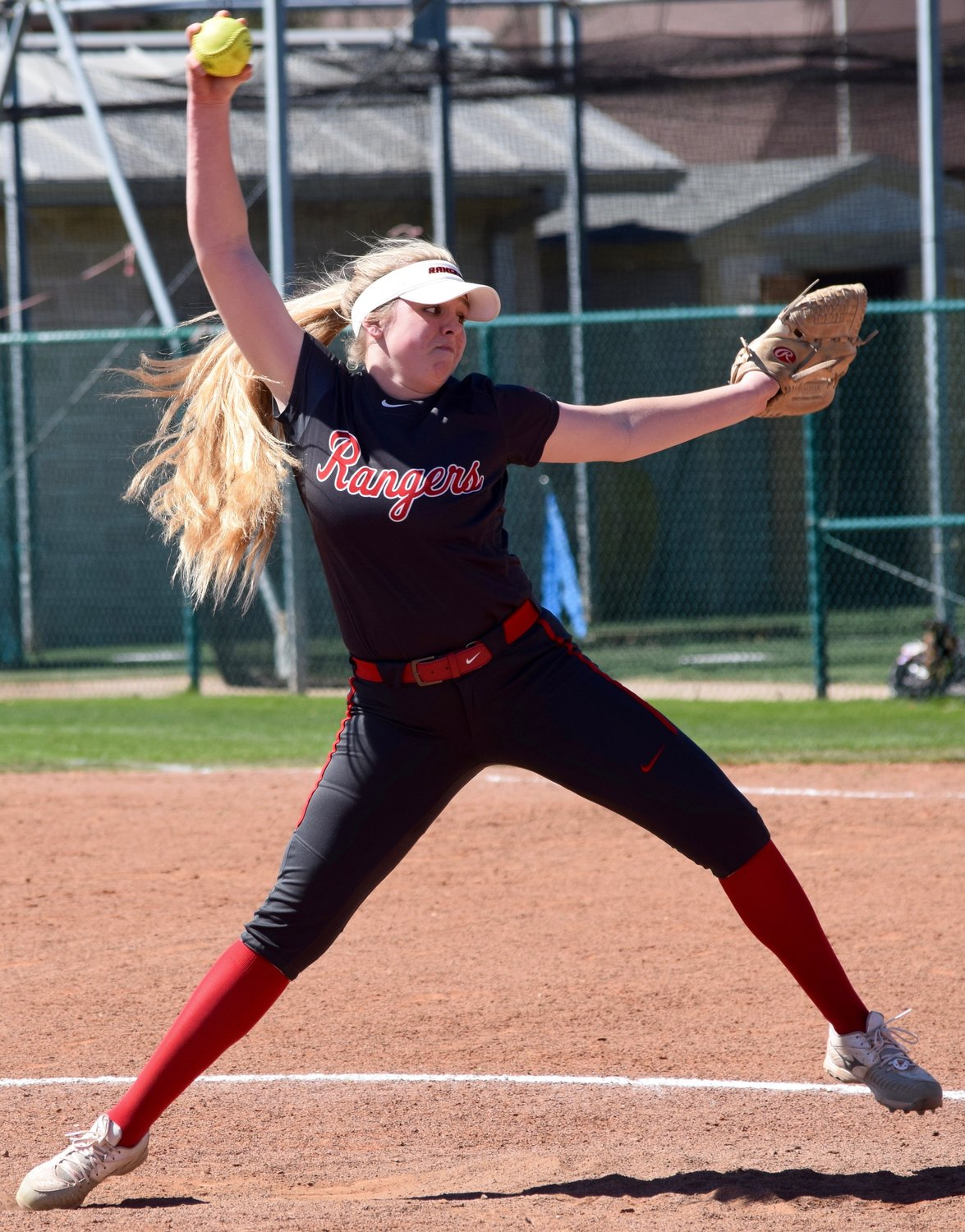 Chloe Smith and Vista Ridge lost to Cedar Ridge 9-2 on Saturday afternoon.