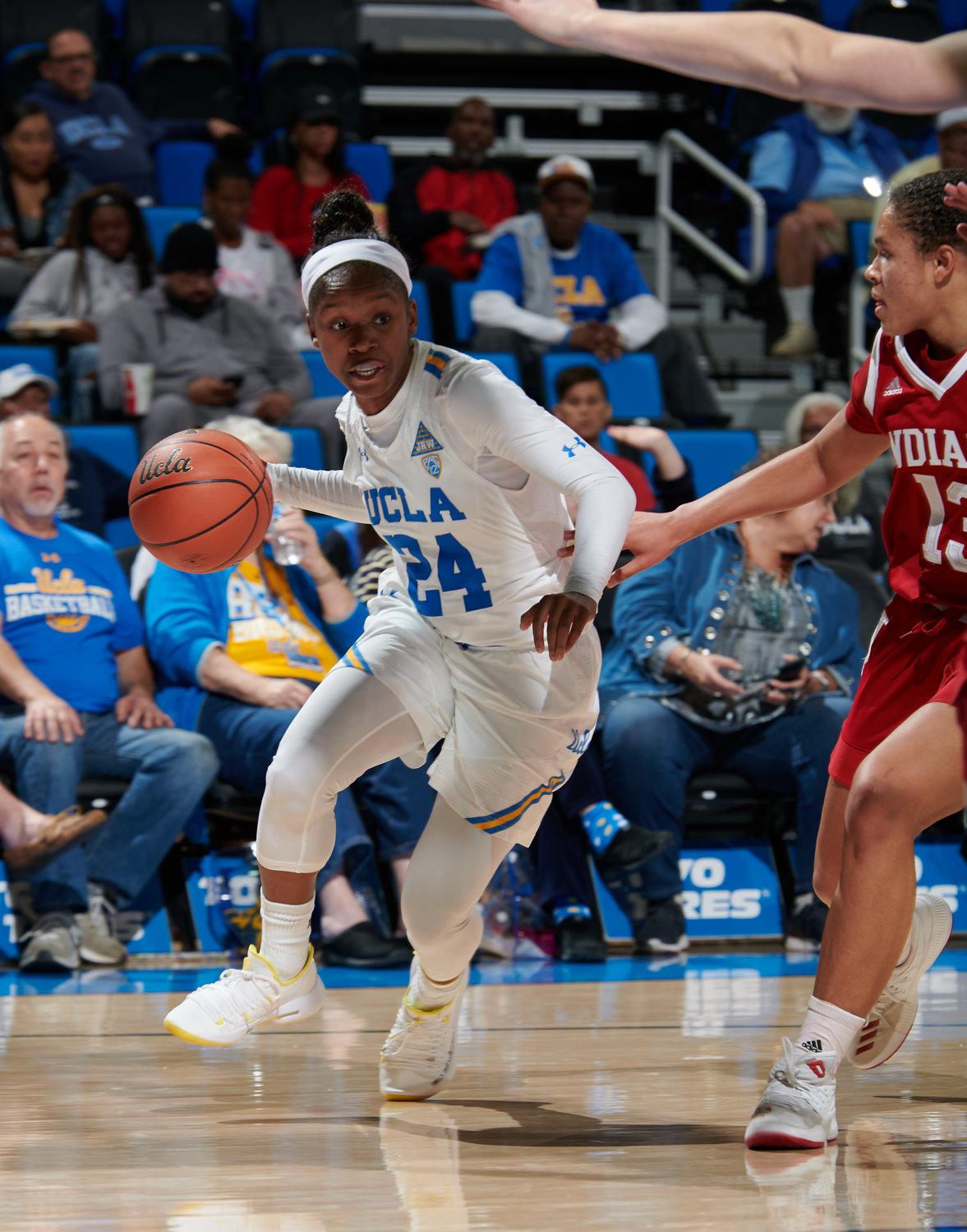Japreece Dean was granted one extra year of eligibilty earlier this month after transferring to UCLA just two games into her sophomore season at Texas Tech.