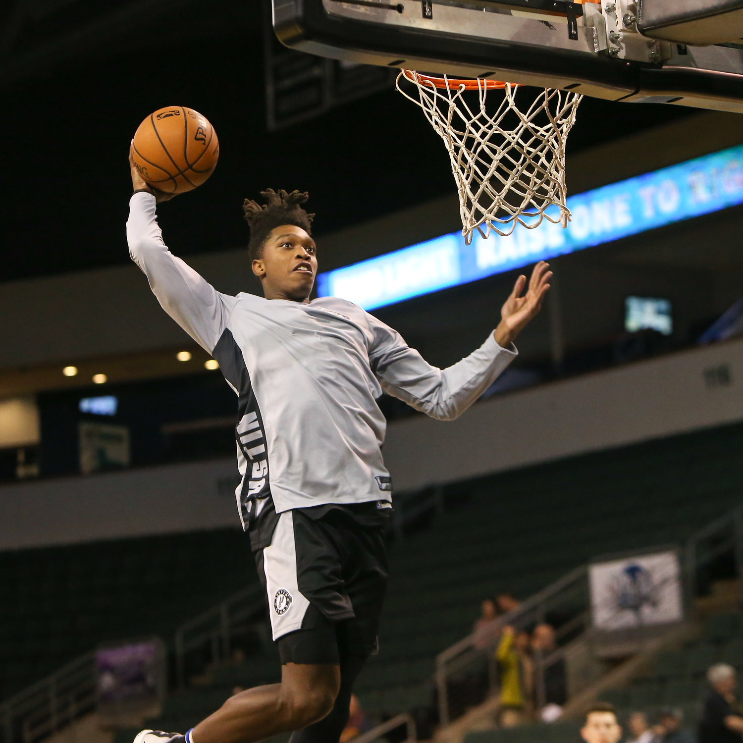 Guard Lonnie Walker IV averaged 16.6 points, 2.9 rebounds and 1.8 assists in 29 games in Austin this season. As he recovered from an injury, he spent most of this season bouncing between the G League and NBA.