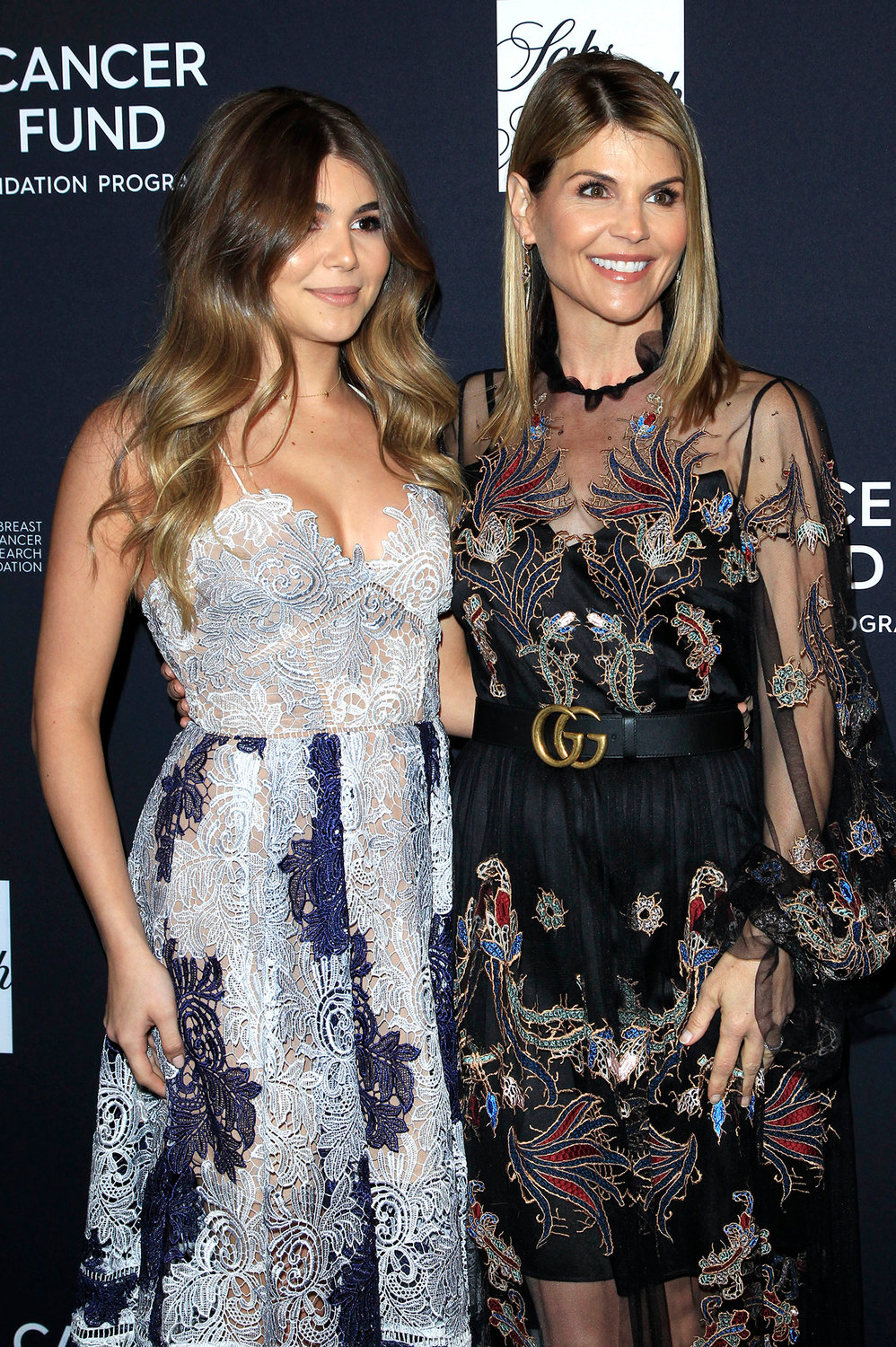 Lori Loughlin, right, with daughter Olivia Jade Giannulli.