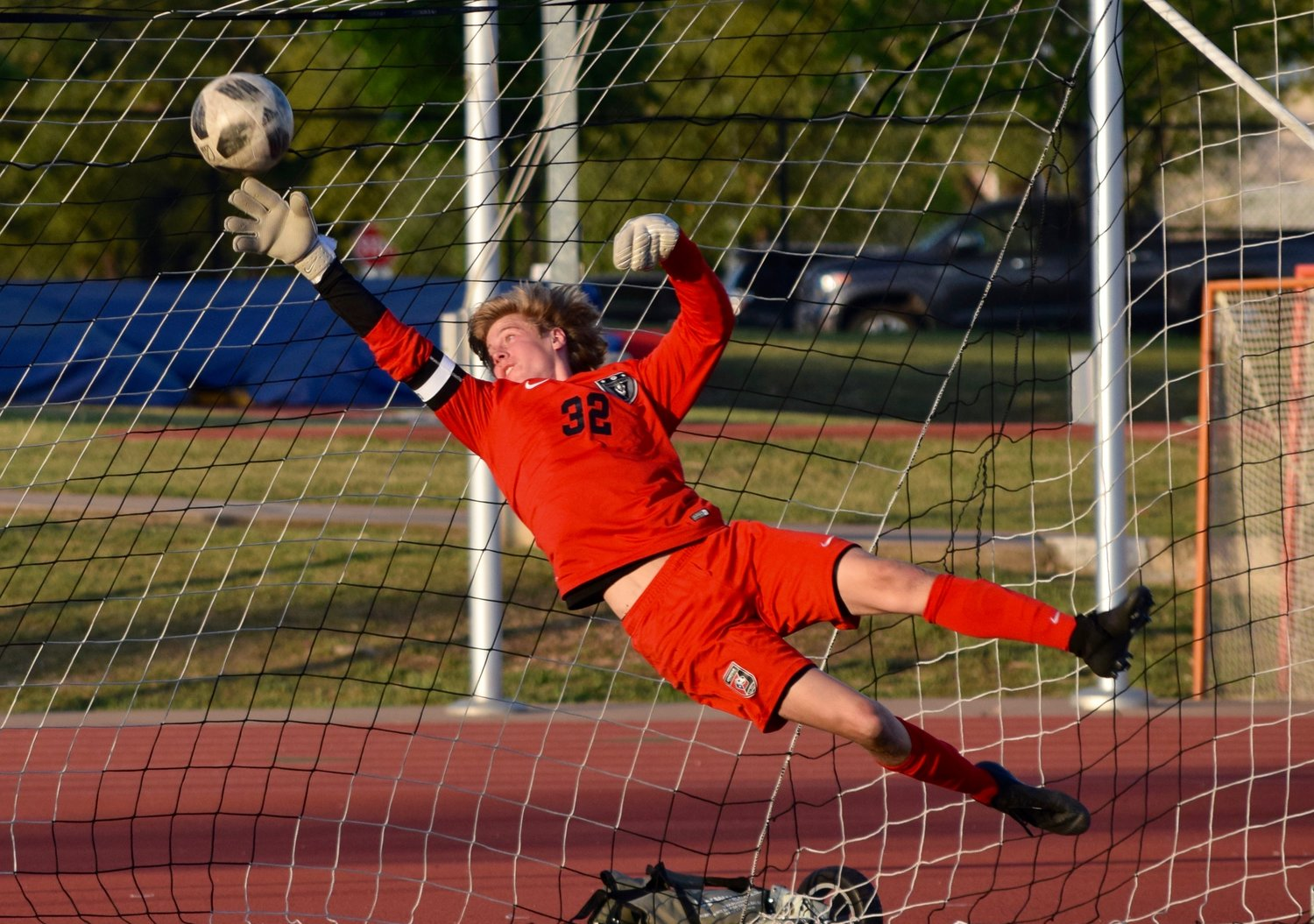 Connor Roth and Vandegrift lost to Cy Ranch 2-1 in the bi-district round of the playoffs on Friday night.