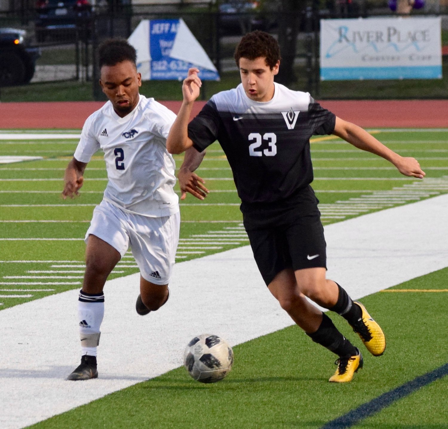 Patrick Donne and Vandegrift lost to Cy Ranch 2-1 in the bi-district round of the playoffs on Friday night.