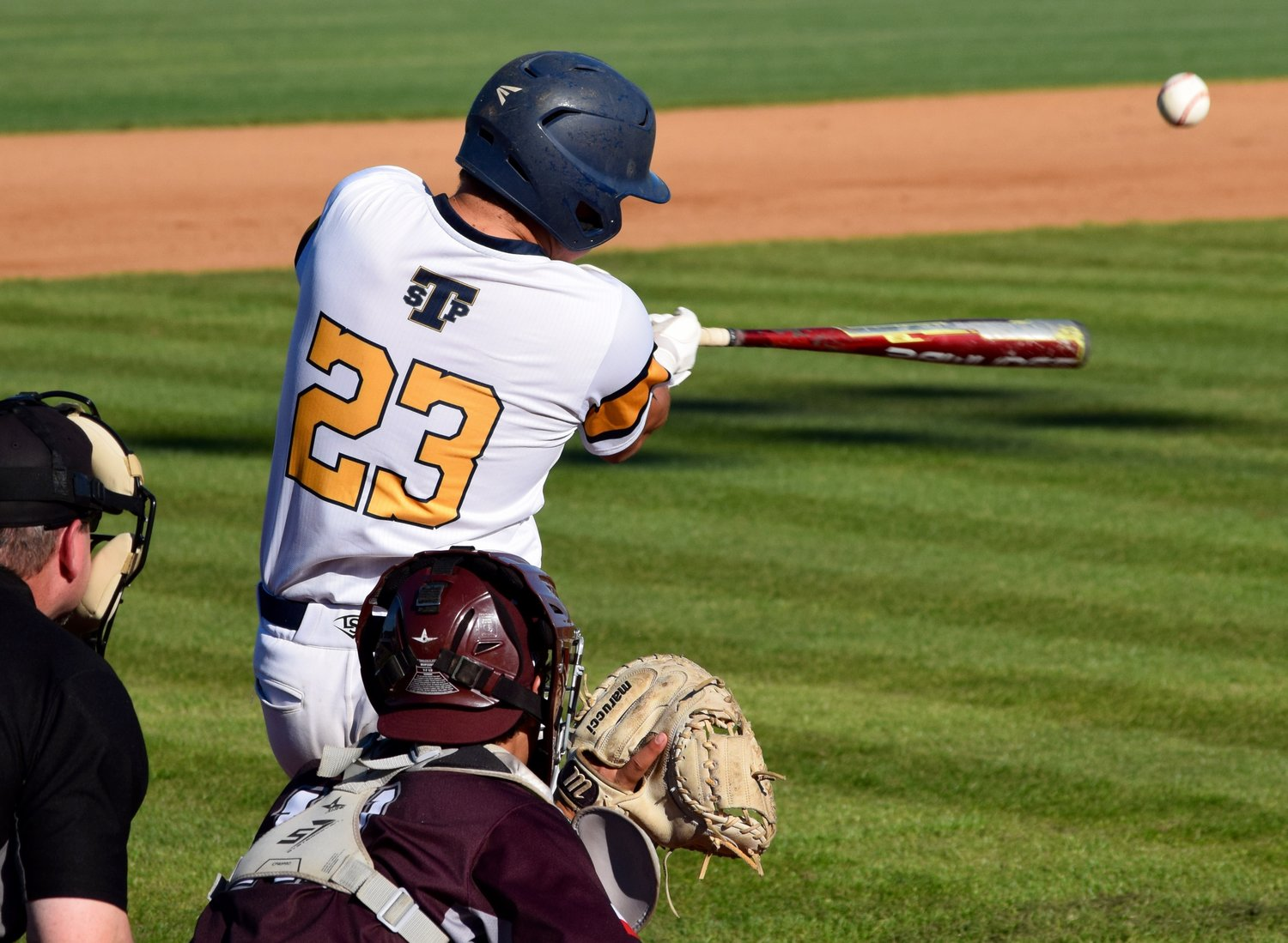 Chance Green and Stony Point beat Round Rock 8-3 at home on Monday afternoon.