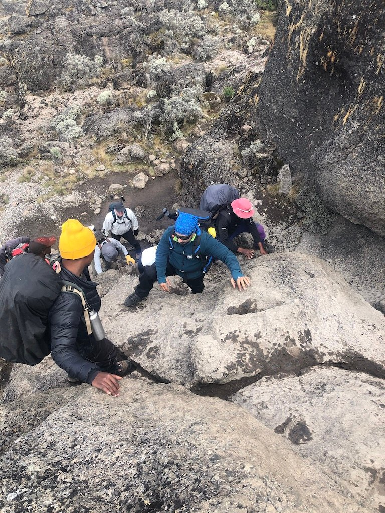 David Lesniak's group of nine climbers summited Mount Kilimanjaro in March, raising more than $20,000 for local charity Miracle Foundation.