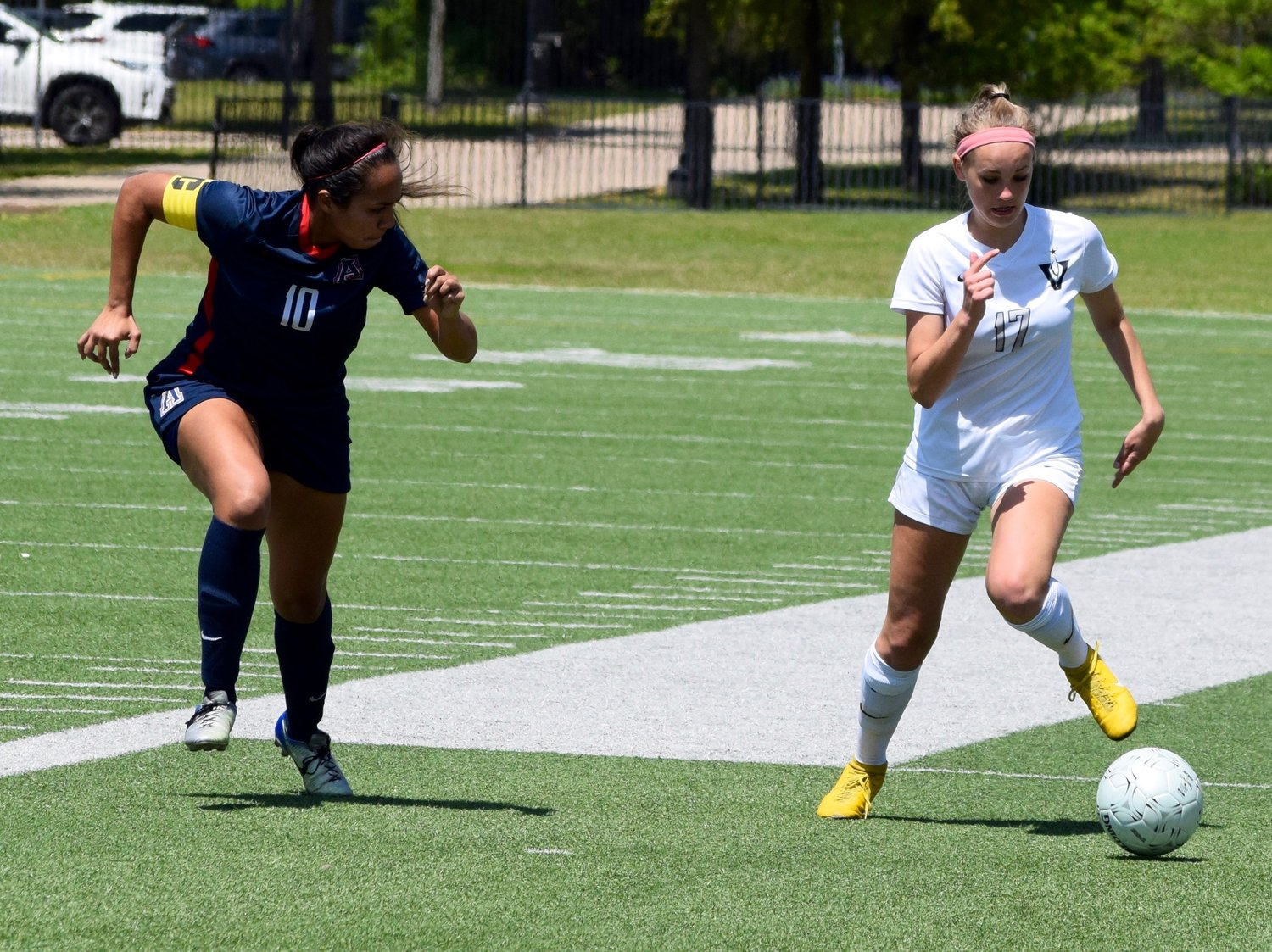 Lexi Spinetta and Vandegrift lost to Allen 1-0 in the regional quarterfinals Friday afternoon at Kelly Reeves Athletic Complex.