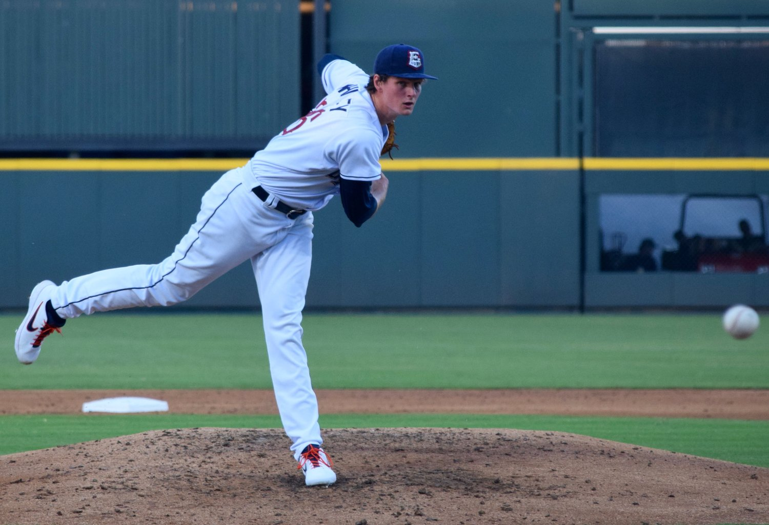 Top pitching prospect Forrest Whitley allowed seven runs on eight hits and lost both games his started, his first Triple-A appearances and first with the Round Rock Express.