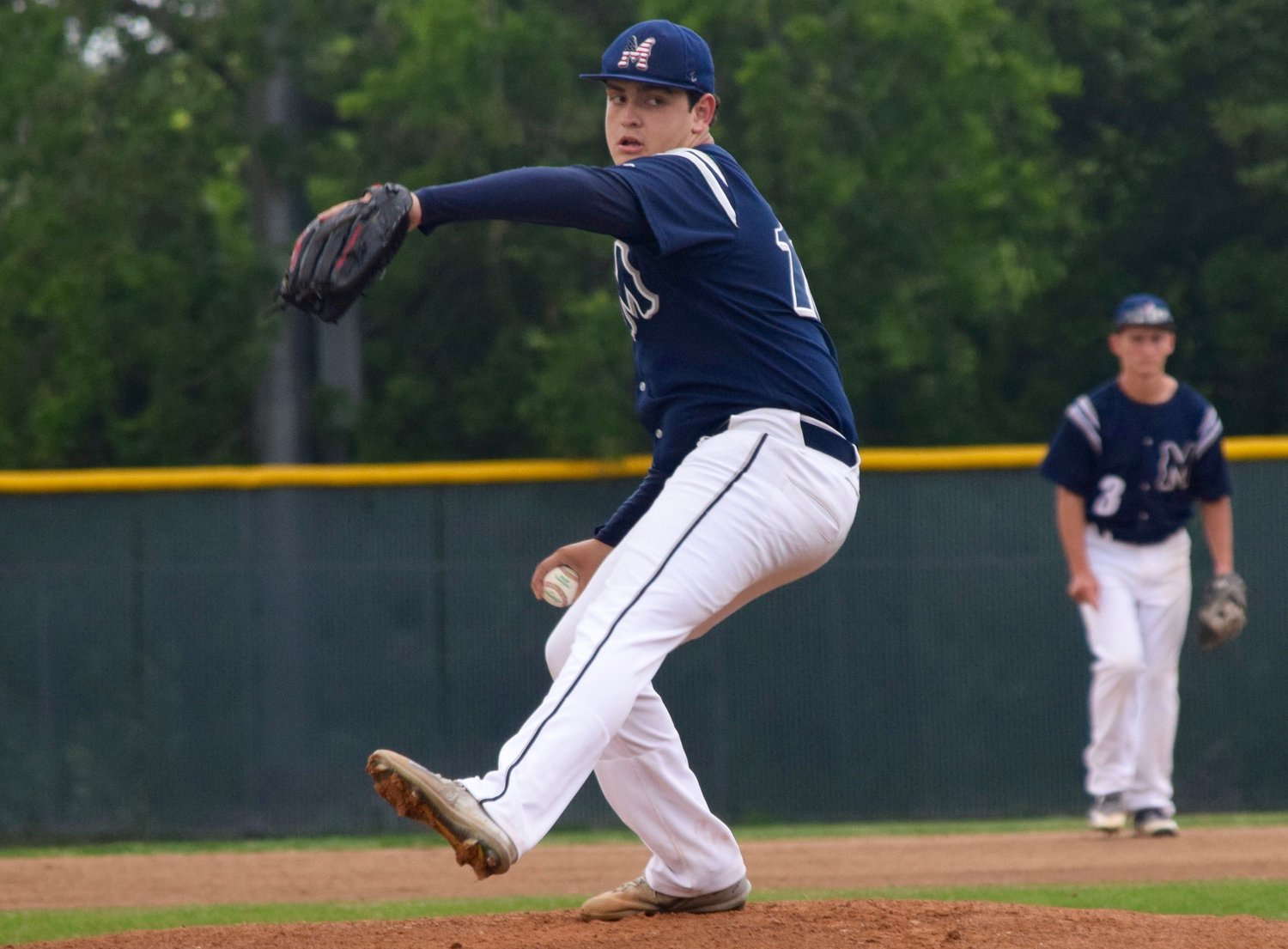 McNeil starter Cooper Anderson allowed two runs on three hits with three strikeouts and the Mavs beat Hendrickson 3-2 on Tuesday to clinch the No. 3 seed in District 13-6A.