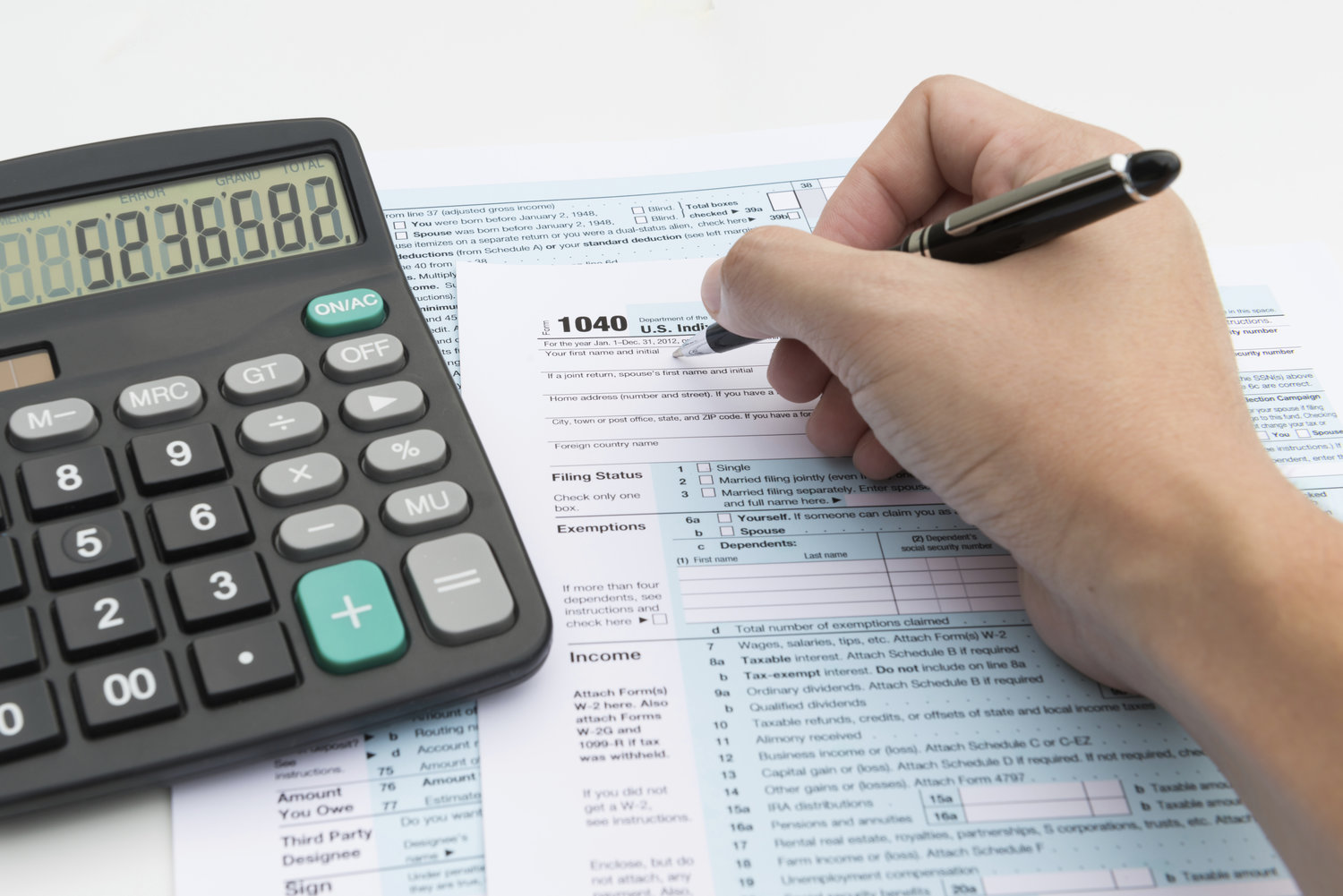 Taxpayers can make adjustments to withholdings by filling out a new W-4 with their  employer.