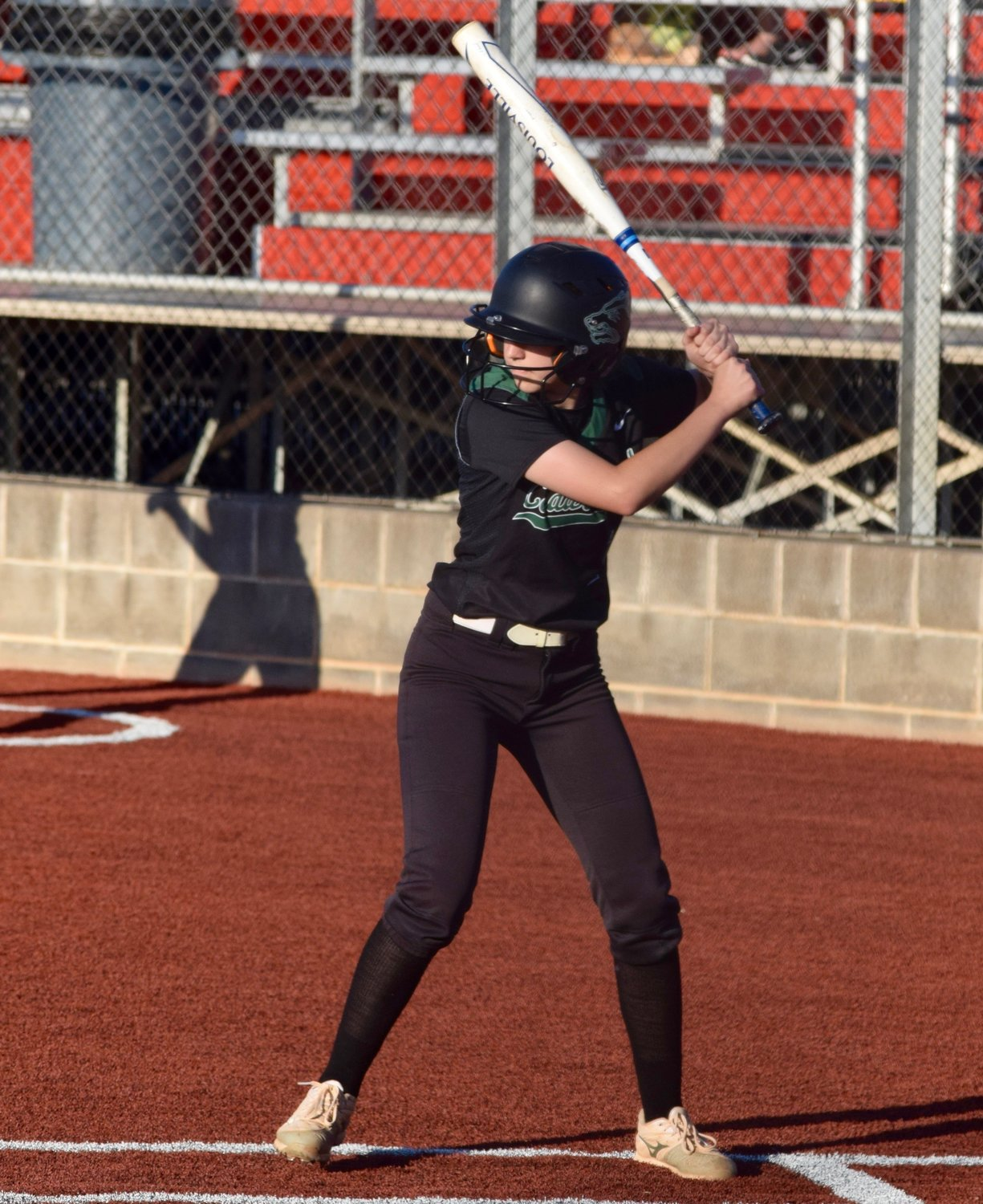 Kathryn Marshall and Cedar Park lost to East View 4-3 in extra innings on Friday to bring the Lady Timberwolves' season to an end.
